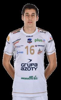 Krzysztof Rejno - zawodnik Zaksa