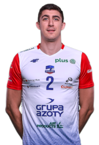 Łukasz Kaczmarek - zawodnik Zaksa