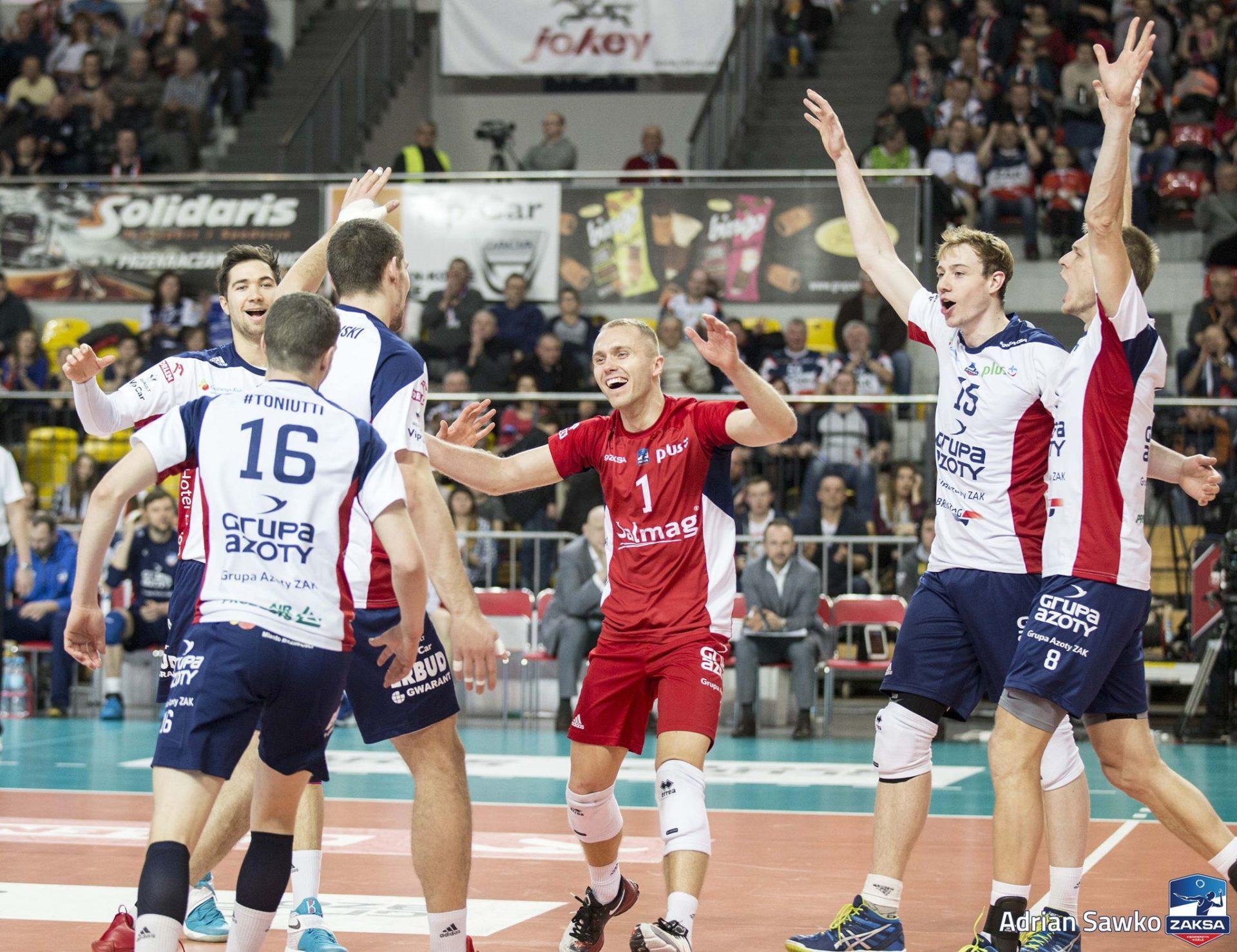 ZAKSA pewnie wygrywa z BBTS Bielsko – Biała!