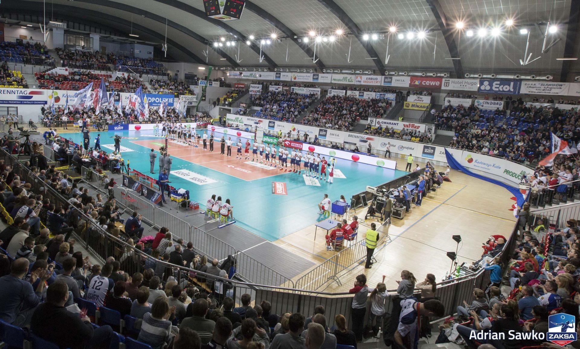 Sprzedaż biletów na mecz z Asseco Resovią Rzeszów.