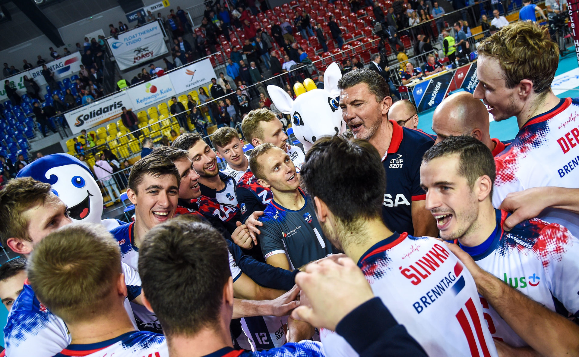 Liga Mistrzów: Poznaliśmy rywali, włoskie potęgi na drodze ZAKSY