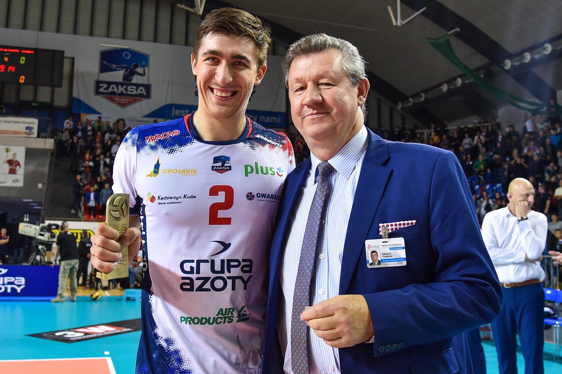 Łukasz Kaczmarek: Stać nas na lepszą siatkówkę