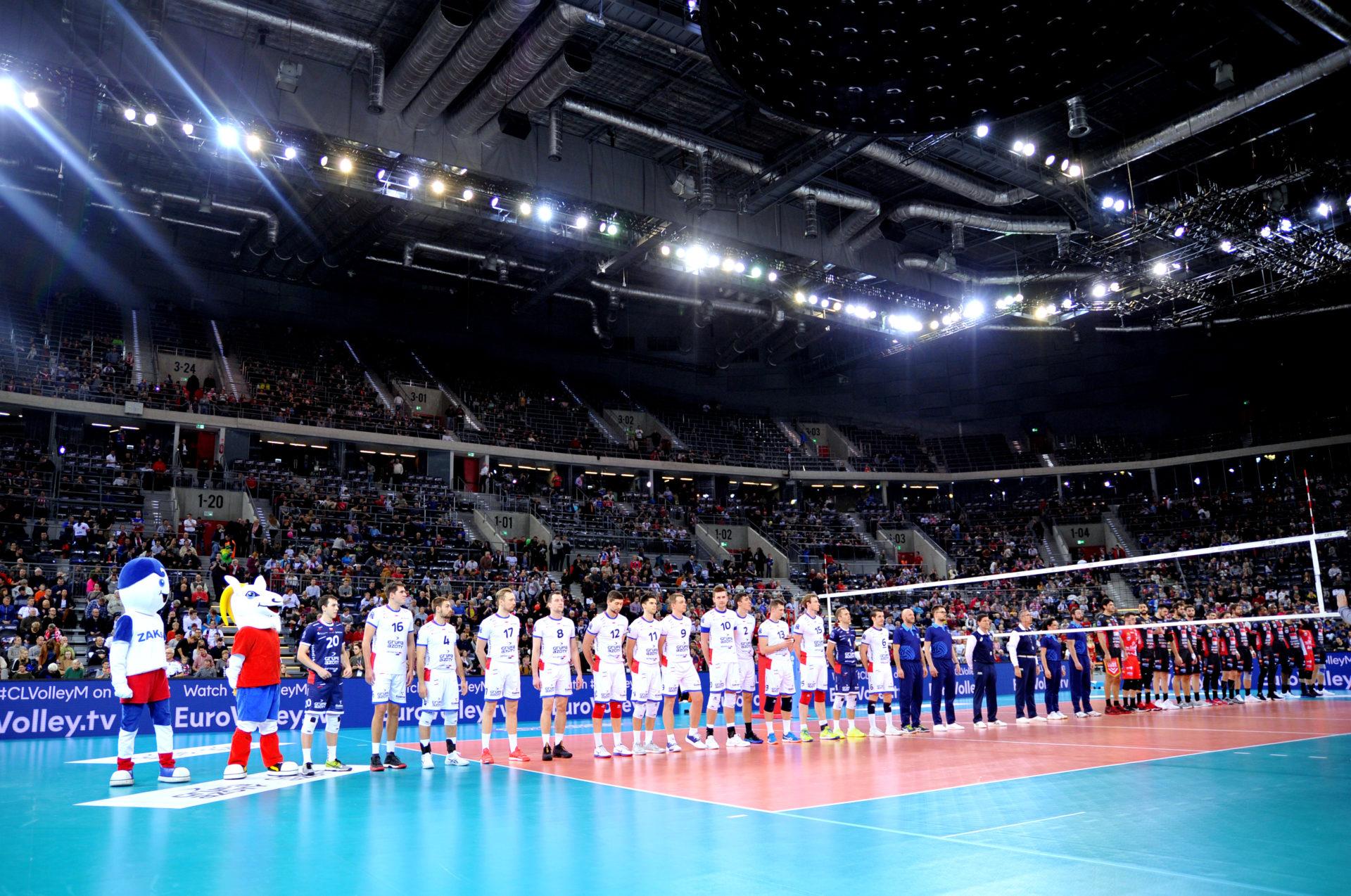 Wicemistrz Włoch wraca z tarczą, przegrywamy z Lube