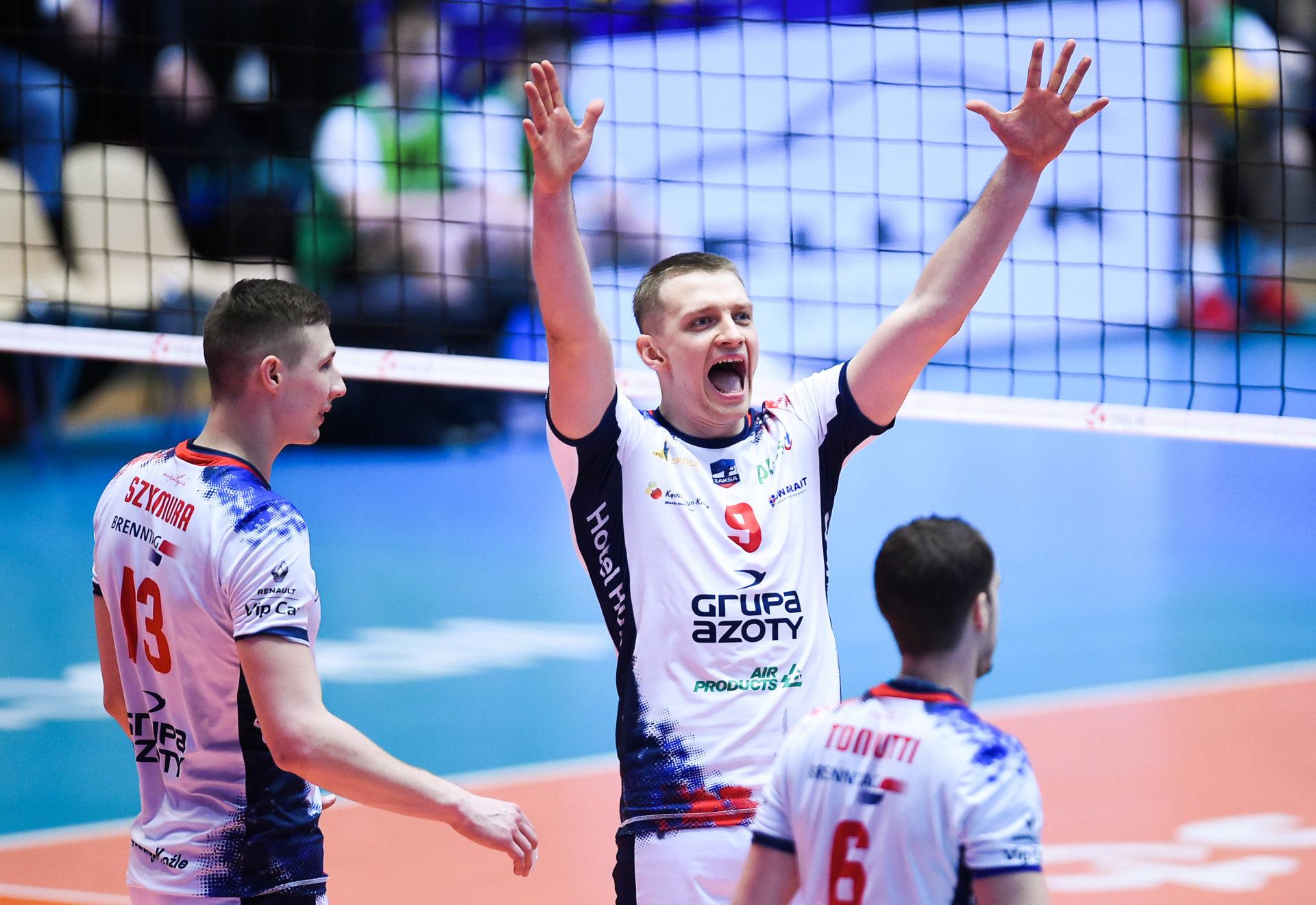 ZAKSA Z Pucharem Polski Grupa Azoty ZAKSA K U0119dzierzyn Ko U017ale
