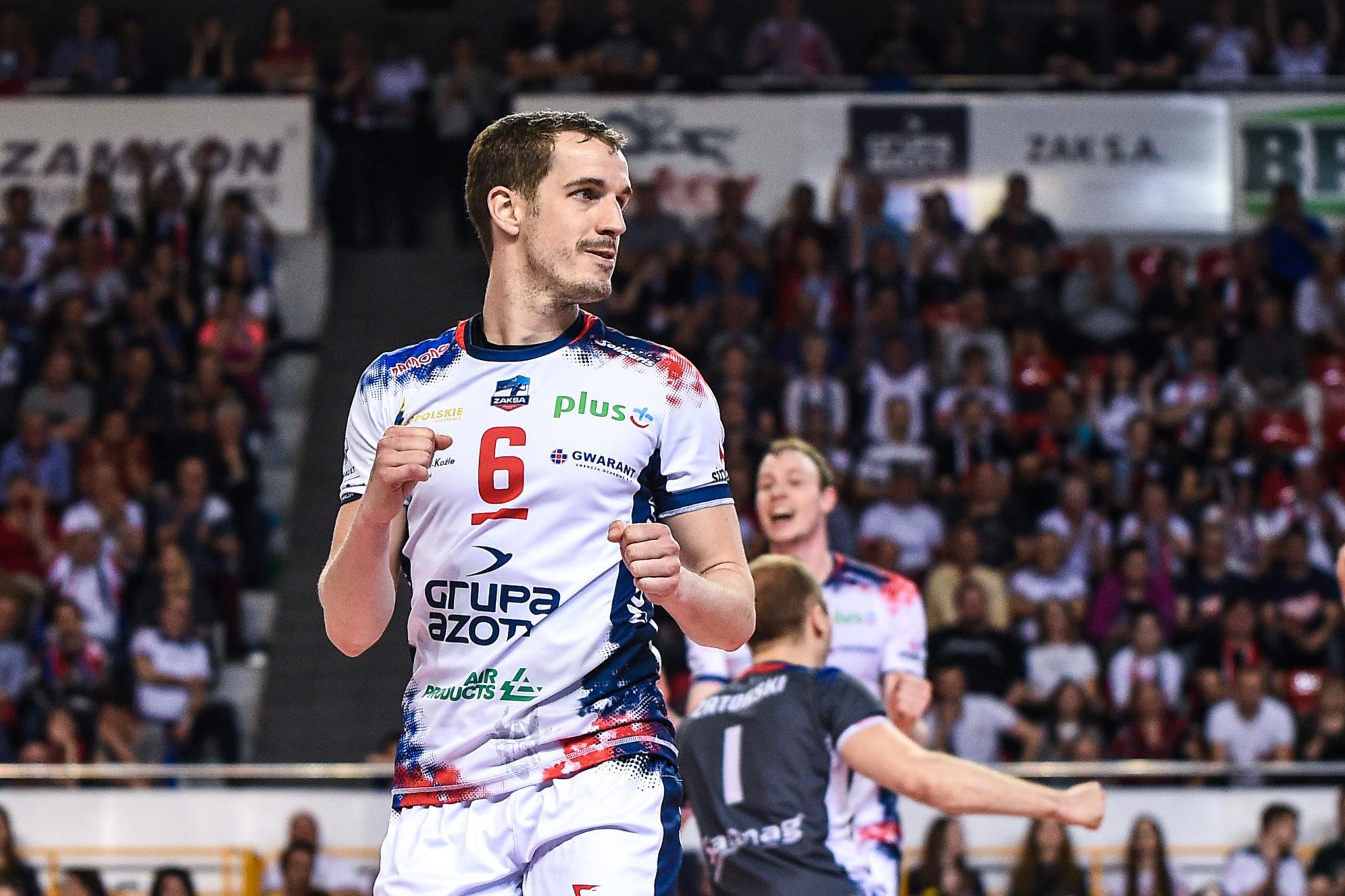 Benjamin Toniutti: Mam nadzieję, że tytuł wróci do Kędzierzyna