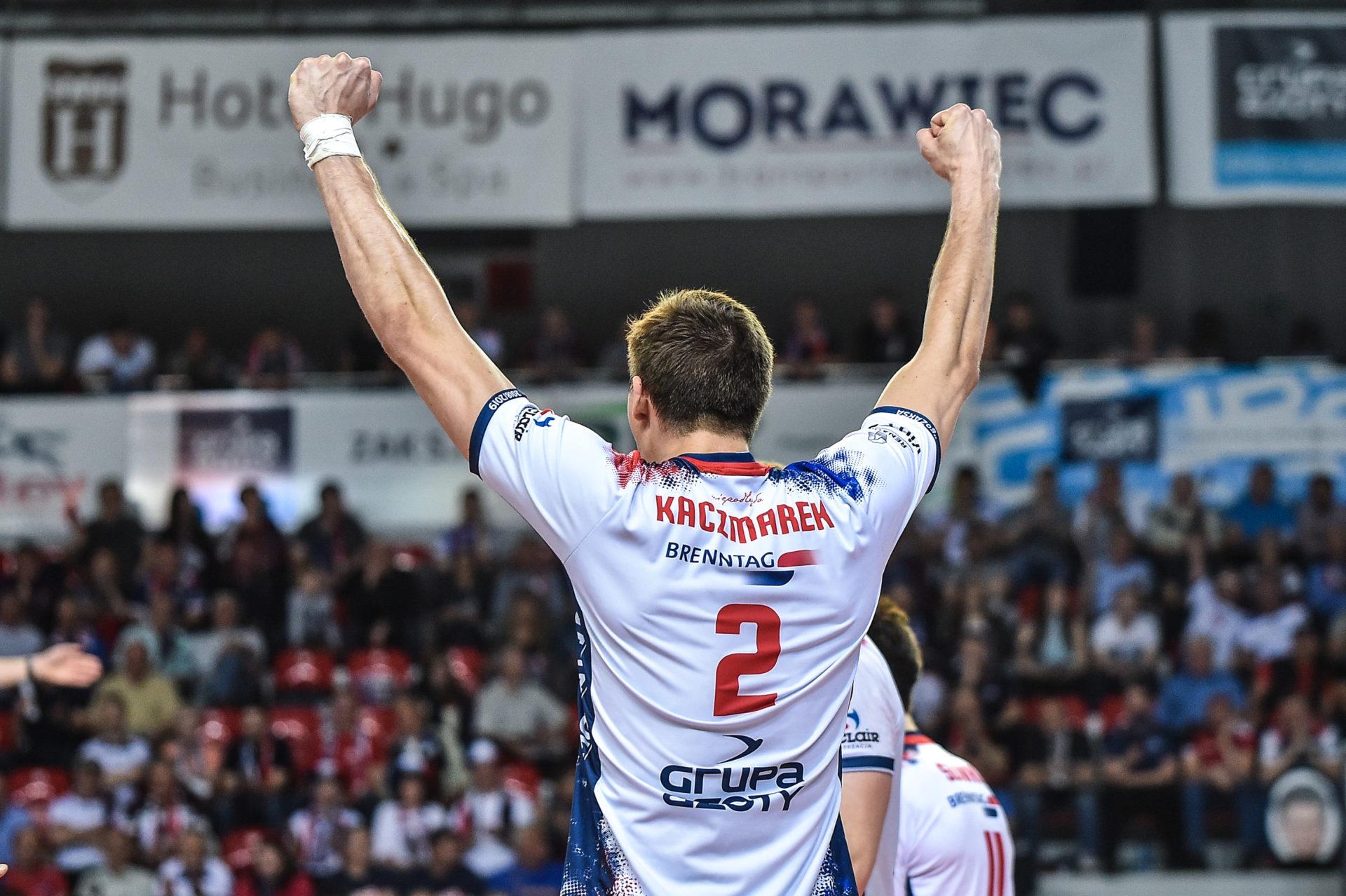 Łukasz Kaczmarek: Grając w reprezentacji czuję się silniejszy niż rok temu