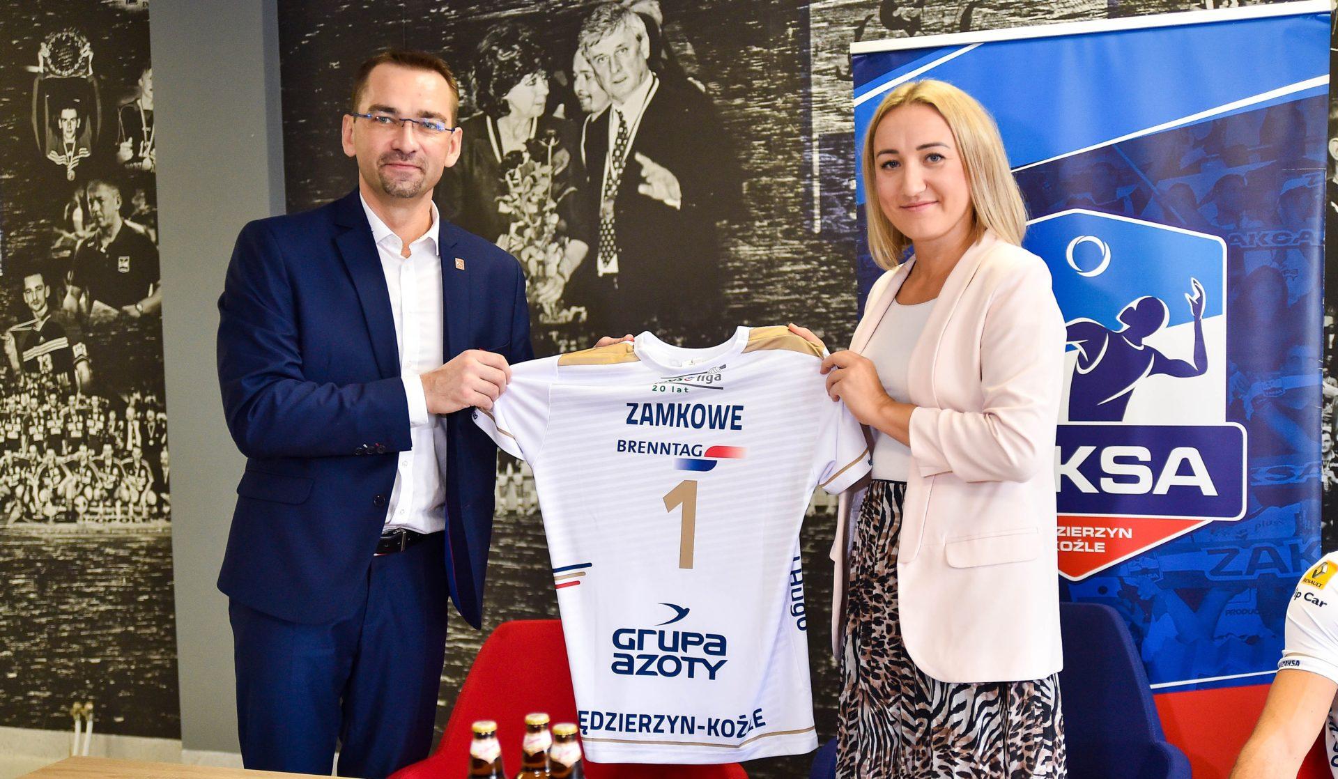 """Regionalne piwo """"Zamkowe"""" nowym sponsorem Grupy Azoty ZAKSA Kędzierzyn-Koźle"""