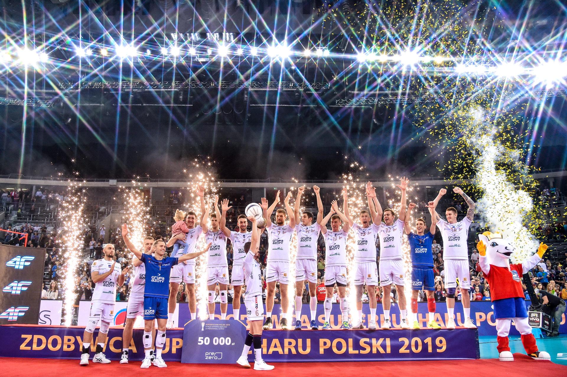 Superpuchar Polski jedzie do Kędzierzyna-Koźla