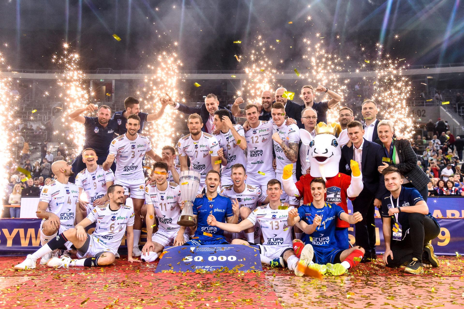 ZAKSA z Superpucharem Polski 2019 – kulisy