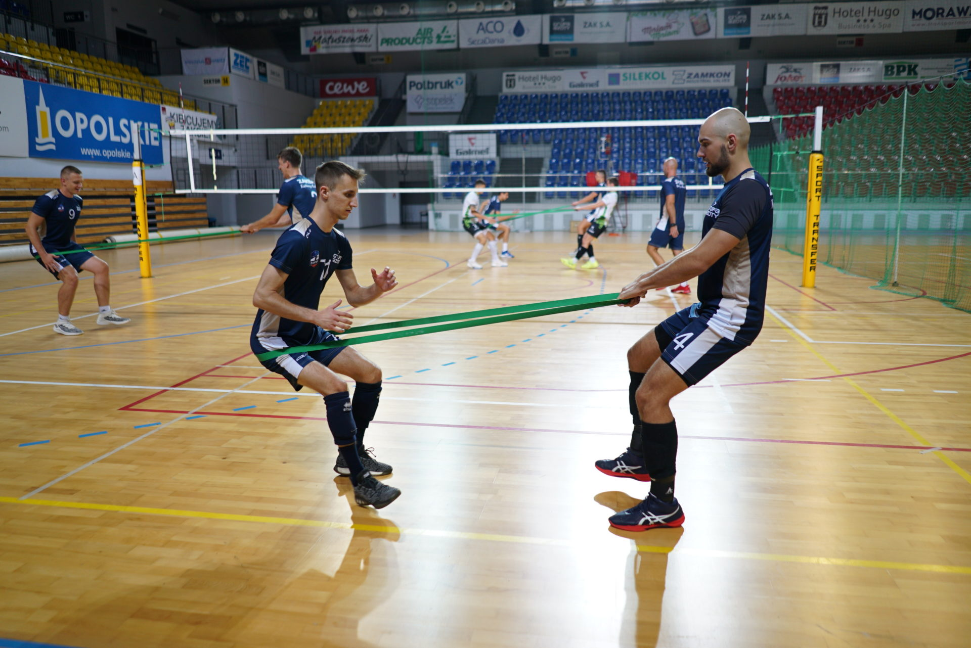 Grupa Azoty ZAKSA Kędzierzyn-Koźle rozpoczyna mecze kotrolne