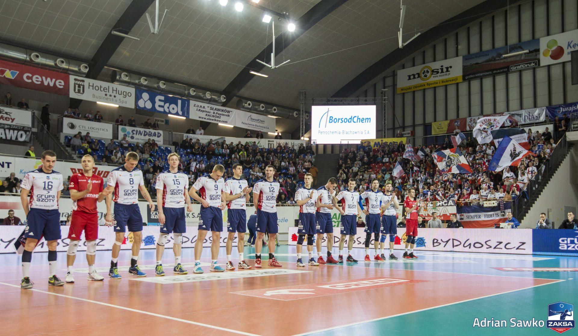 ZAKSA podejmie Łuczniczkę Bydgoszcz