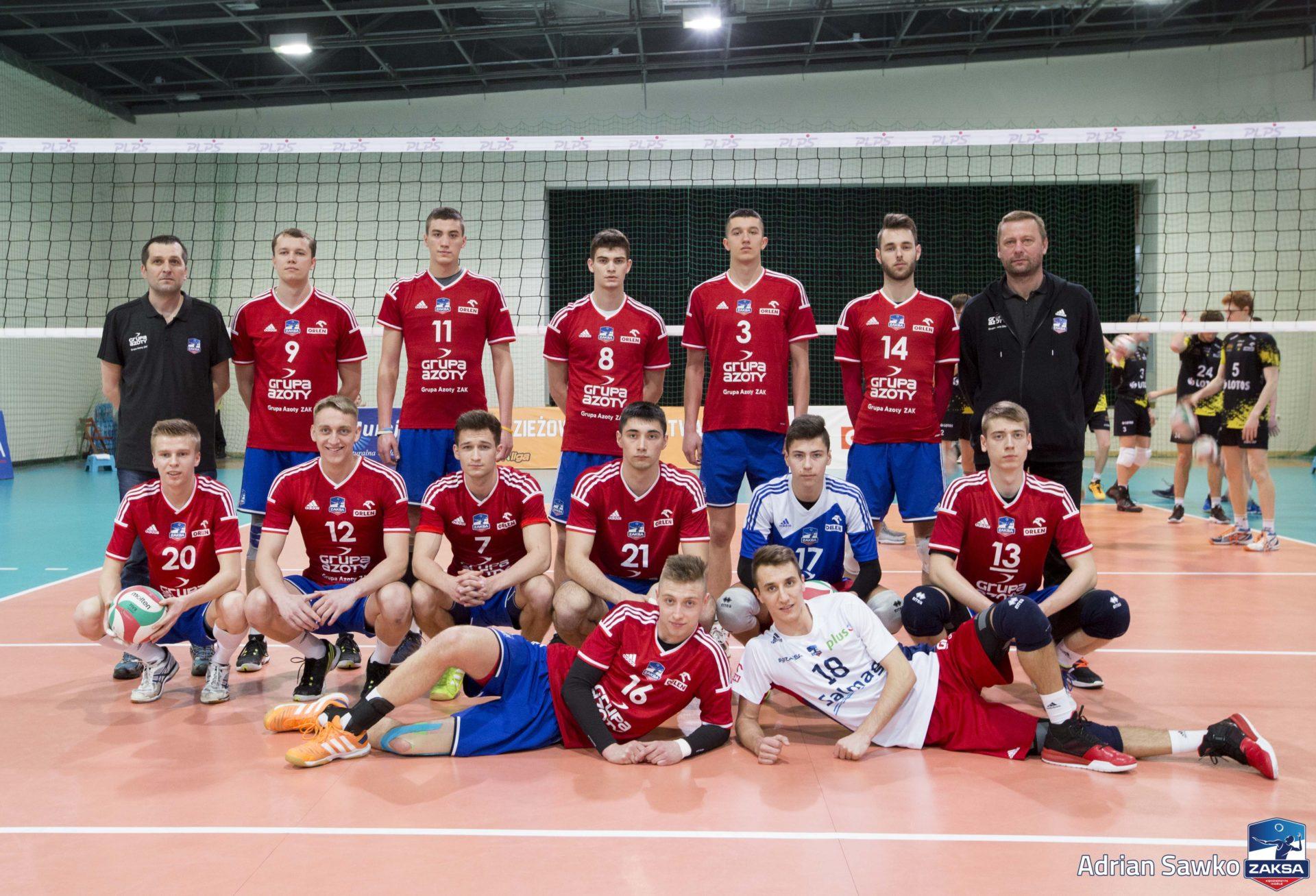Młoda Liga ZAKSA zagra w II Lidze Piłki Siatkowej.