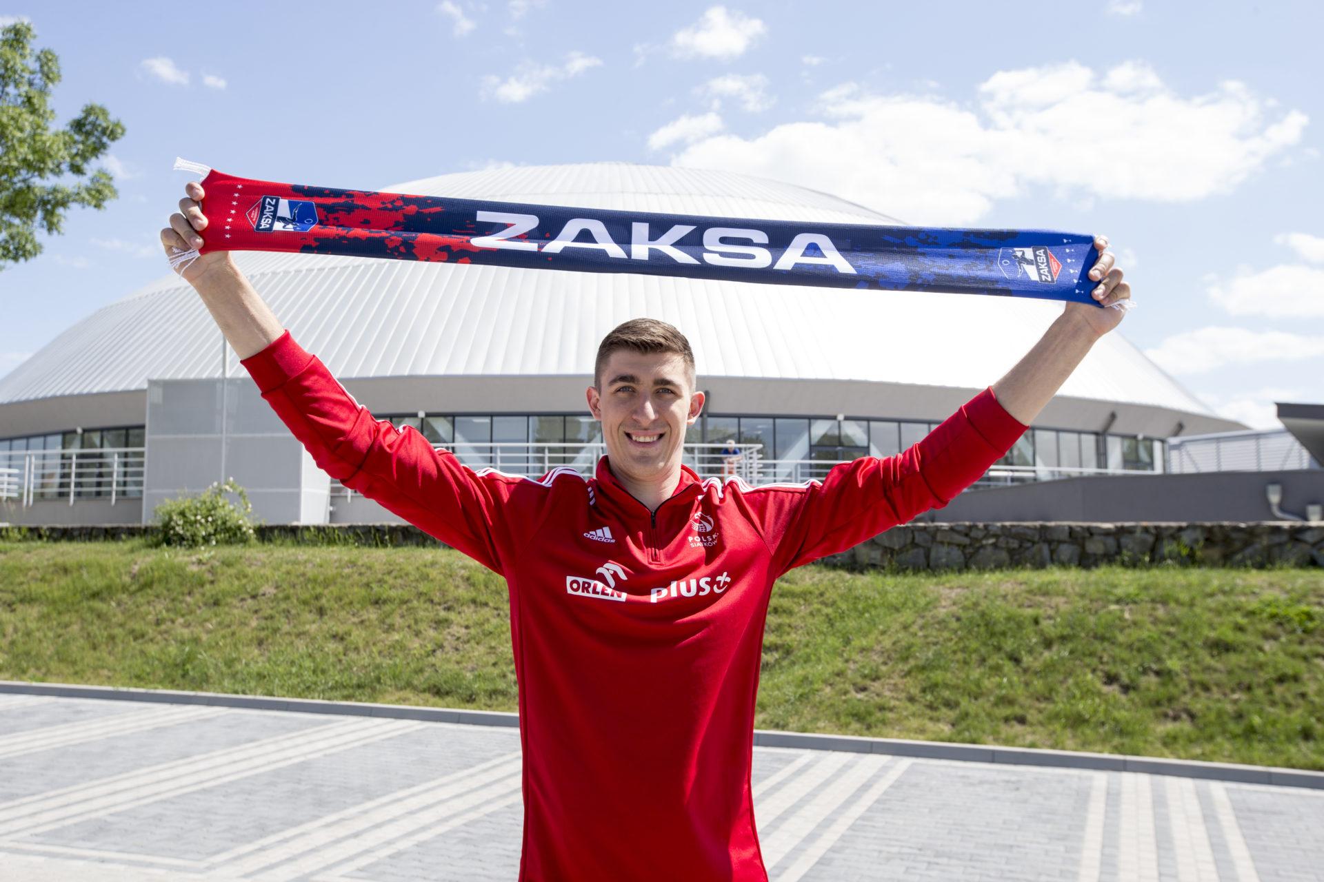 Łukasz Kaczmarek nowym atakującym ZAKSY