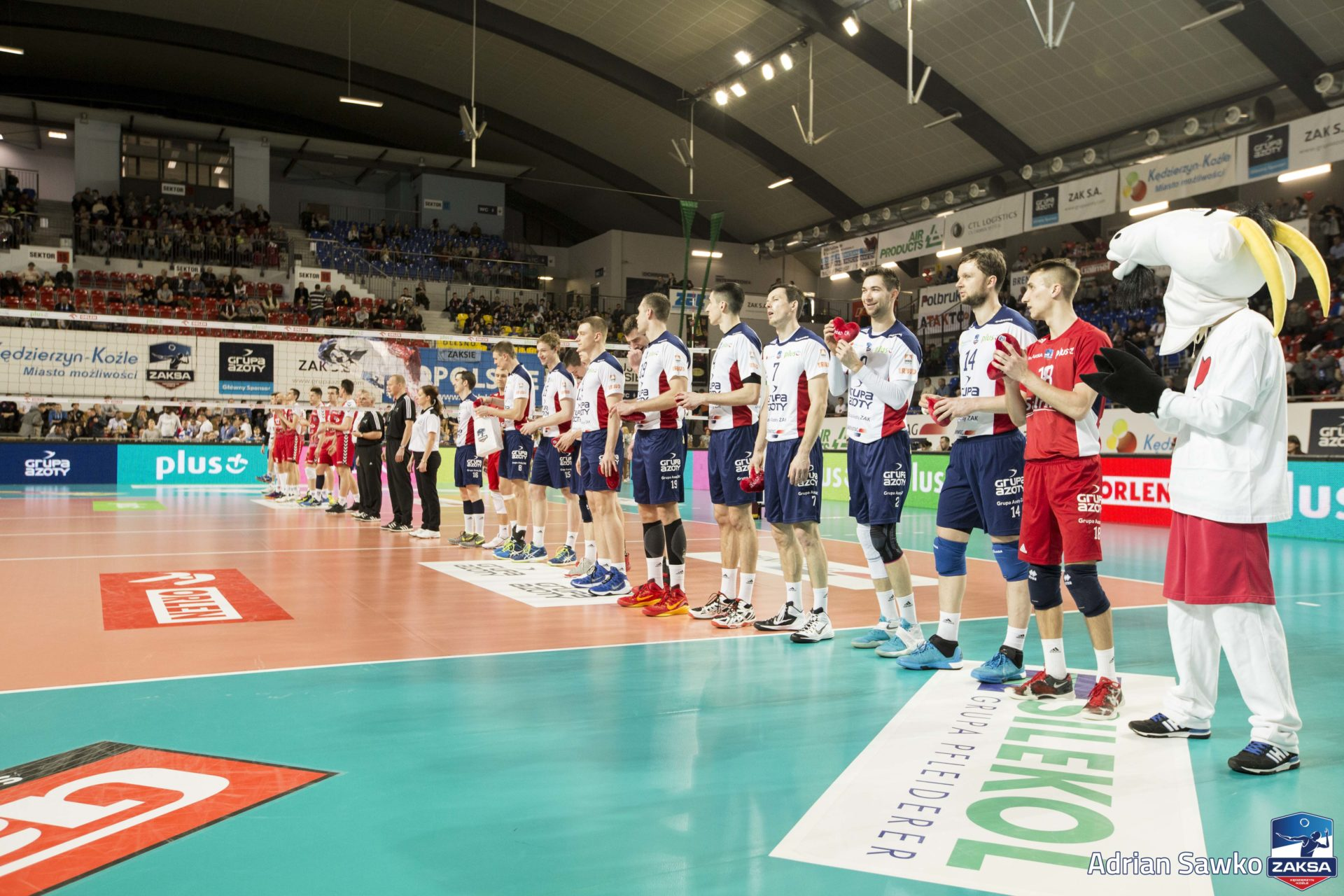 Komplet publiczności obejrzy mecz z Asseco Resovią Rzeszów!