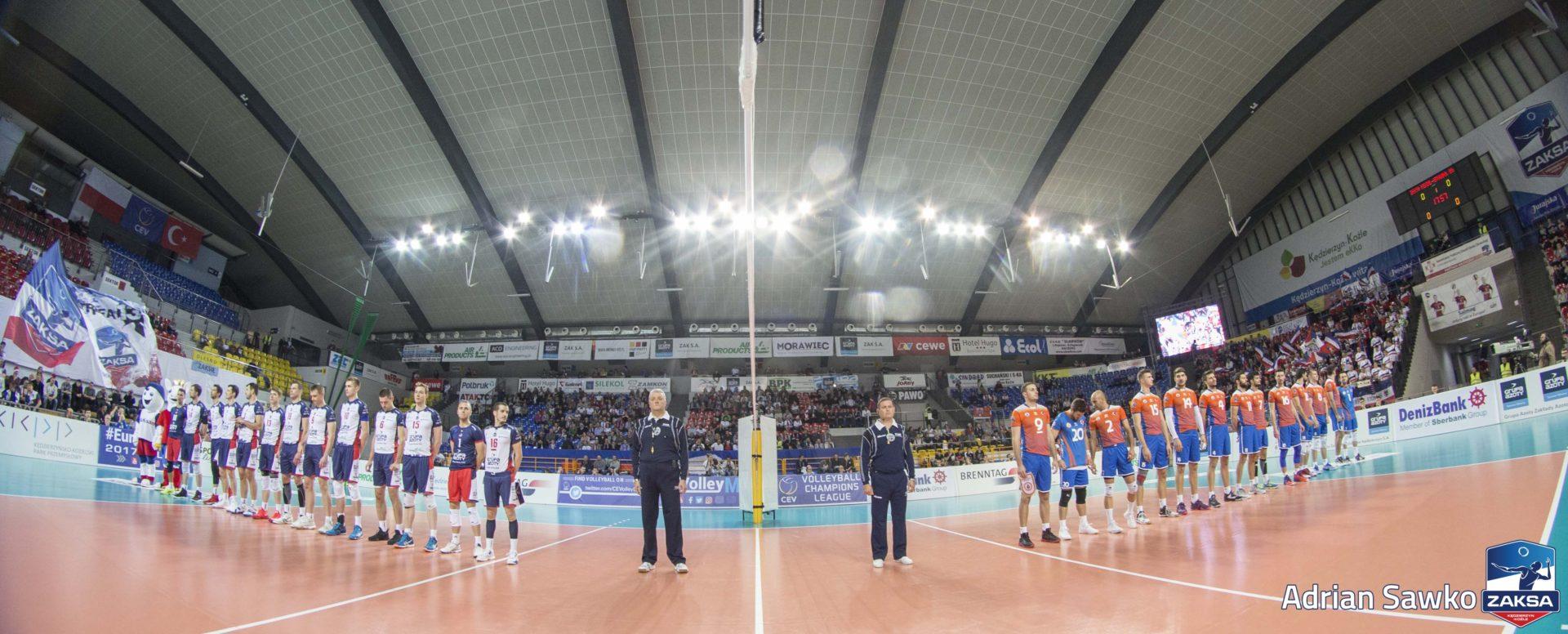 Znakomity początek w Lidze Mistrzów, BBSK Istambul pokonany
