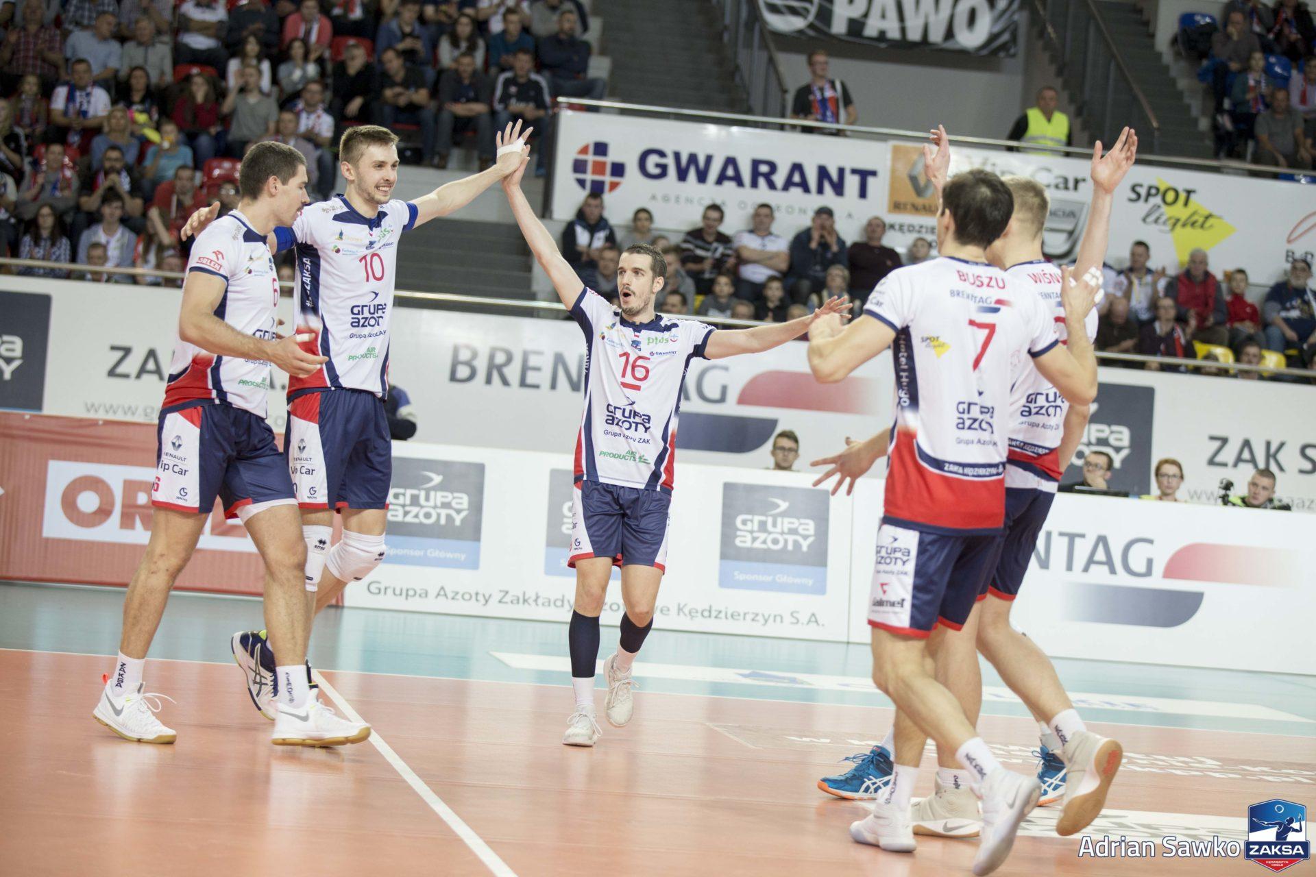 Zawodnicy o meczu z Łuczniczką Bydgoszcz