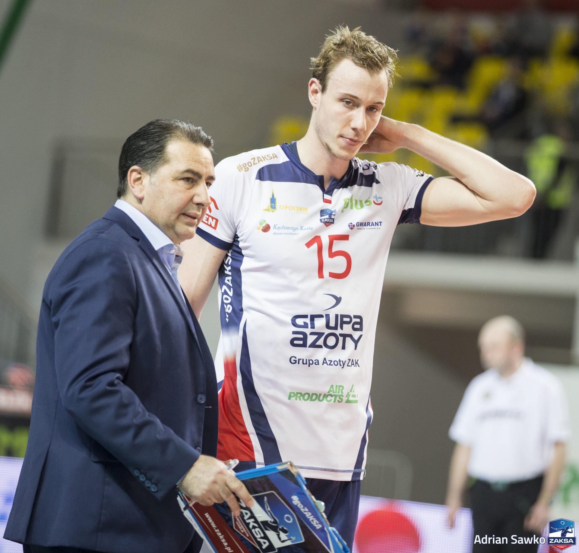 Przed ZAKSĄ pierwszy mecz z Biełogorie Biełgorod