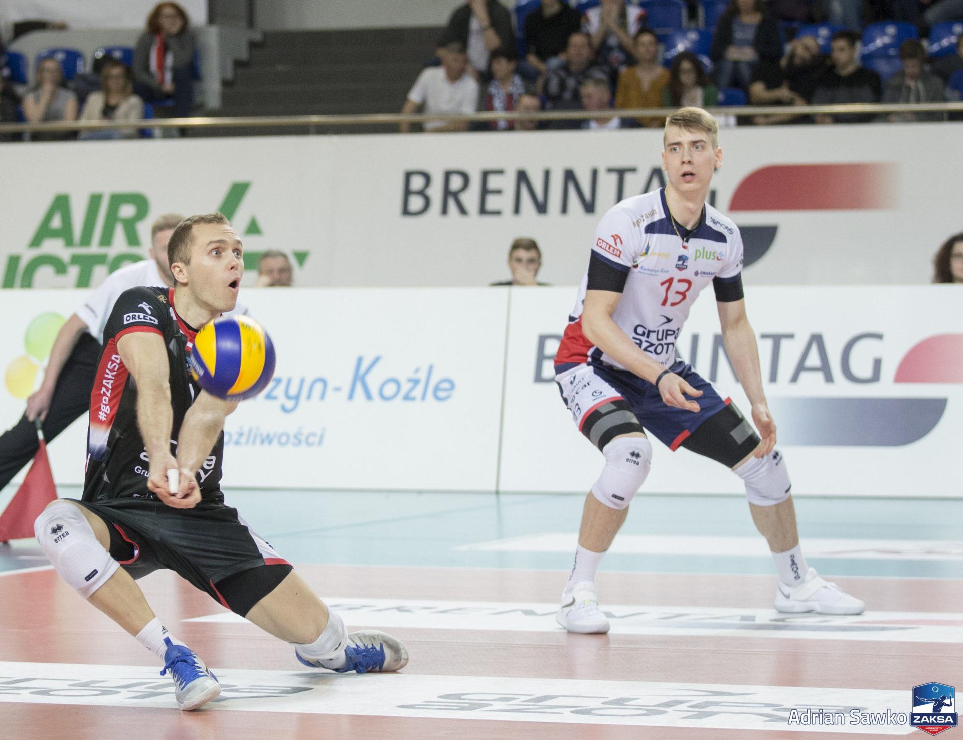 Kamil Semeniuk o meczu z BBTS-em: Graliśmy swoją siatkówkę