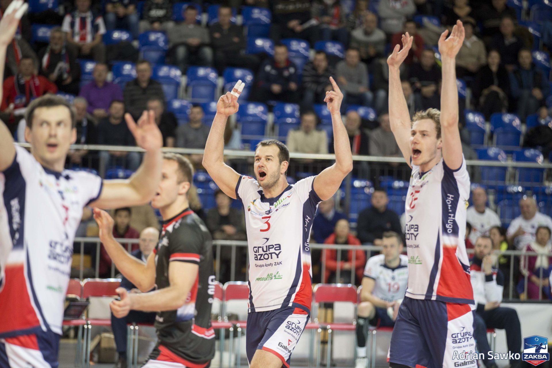 ZAKSA przed decydującym starciem w Pucharze Polski