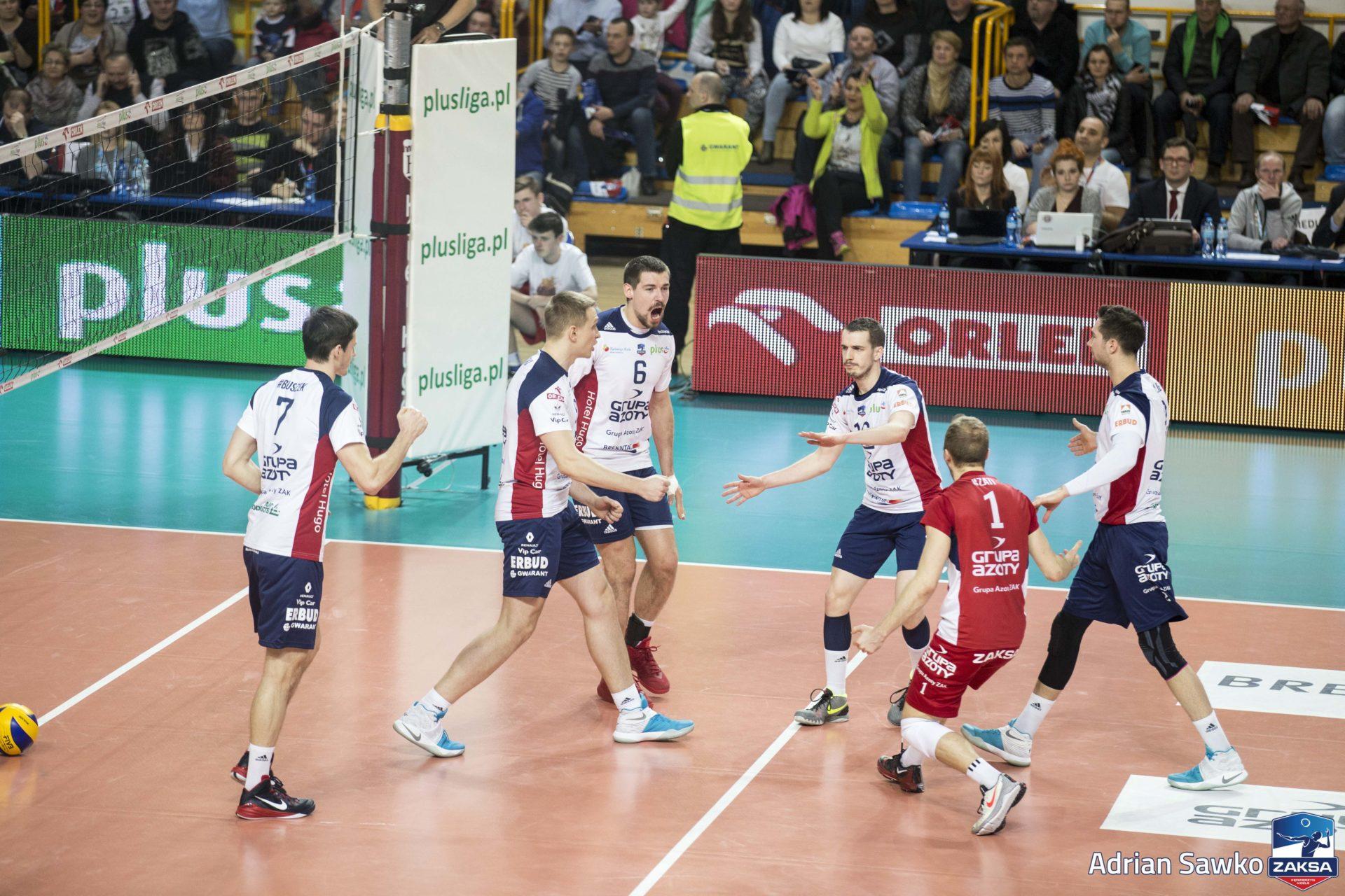 ZAKSA Kędzierzyn – Koźle wygrywa z Mistrzem Polski Asseco Resovią Rzeszów!