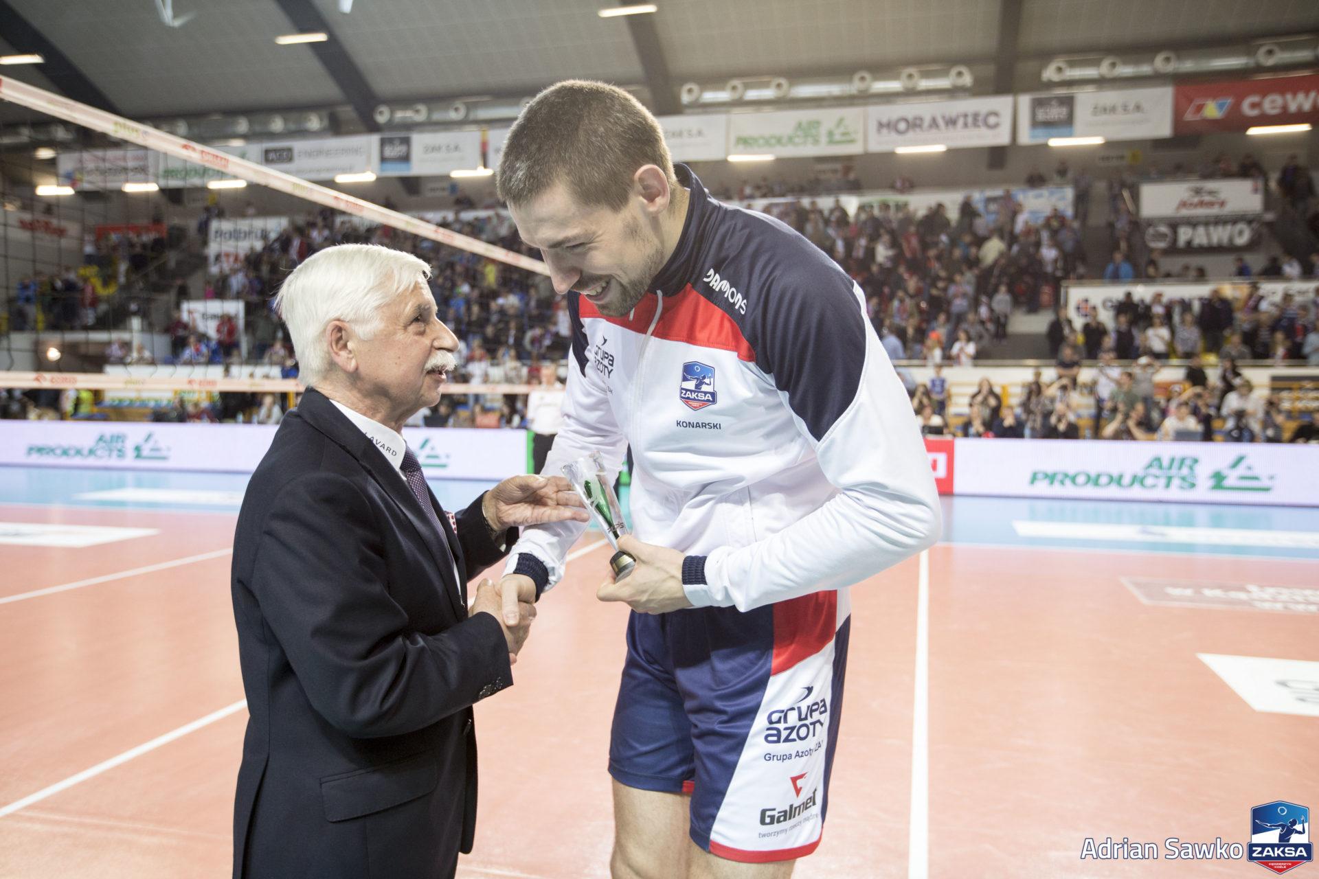 Dawid Konarski: Będziemy walczyć o złoto nie odczuwając ciśnienia