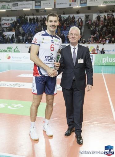 MVP spotkania wybrany został Dawid Konarski