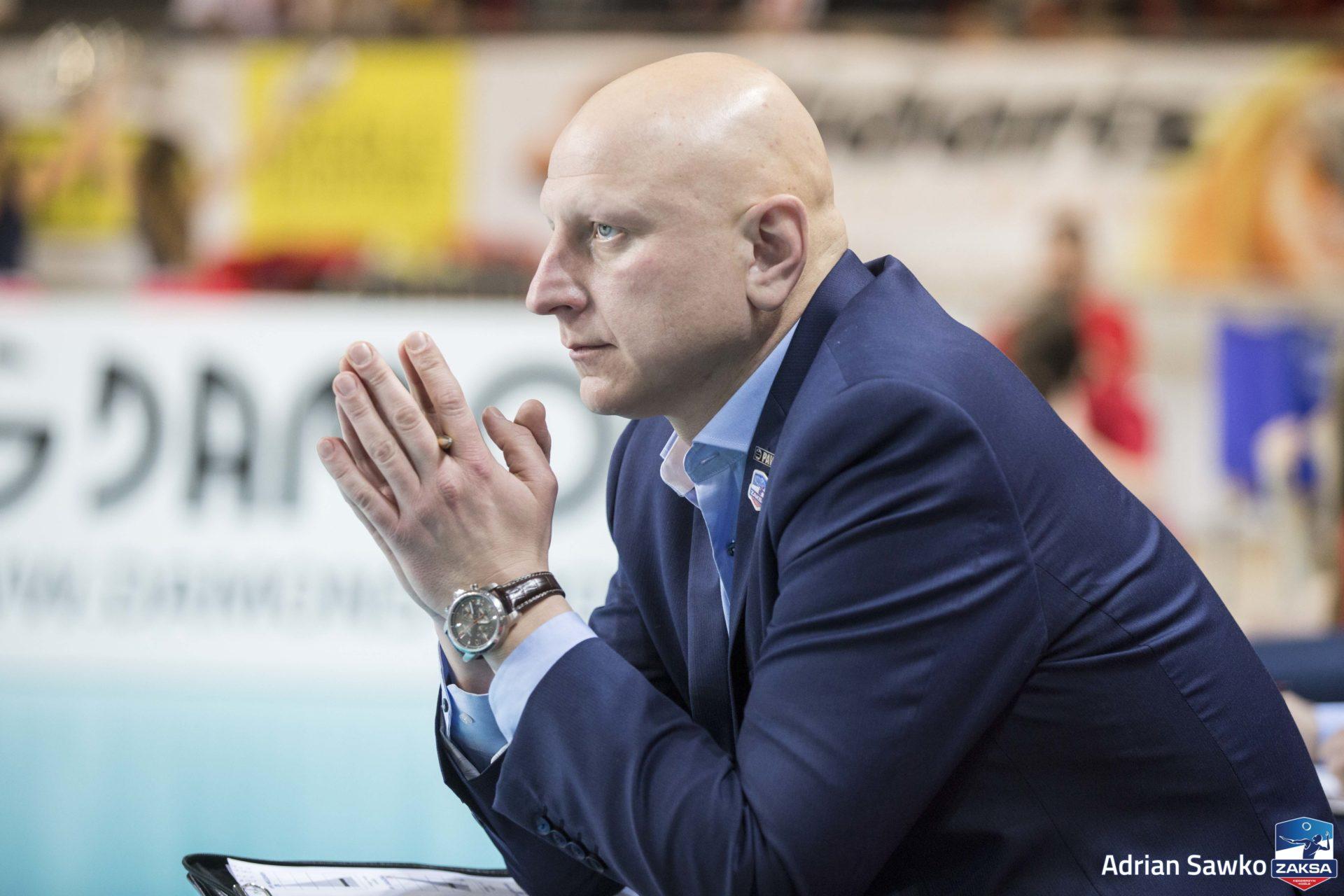 Michał Chadała o meczu z MKS-em Będzin
