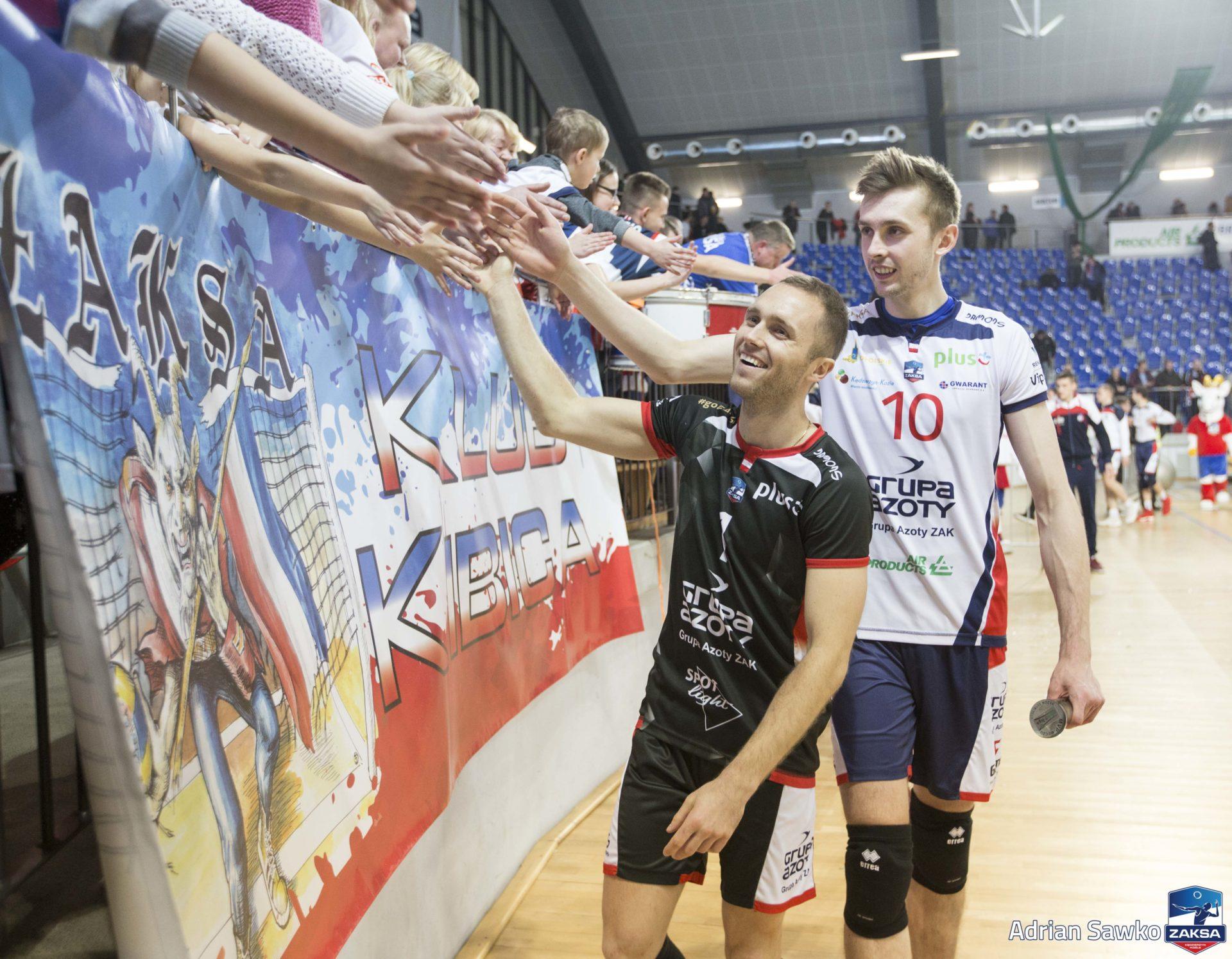 Mocny początek ZAKSY w walce o Puchar Polski
