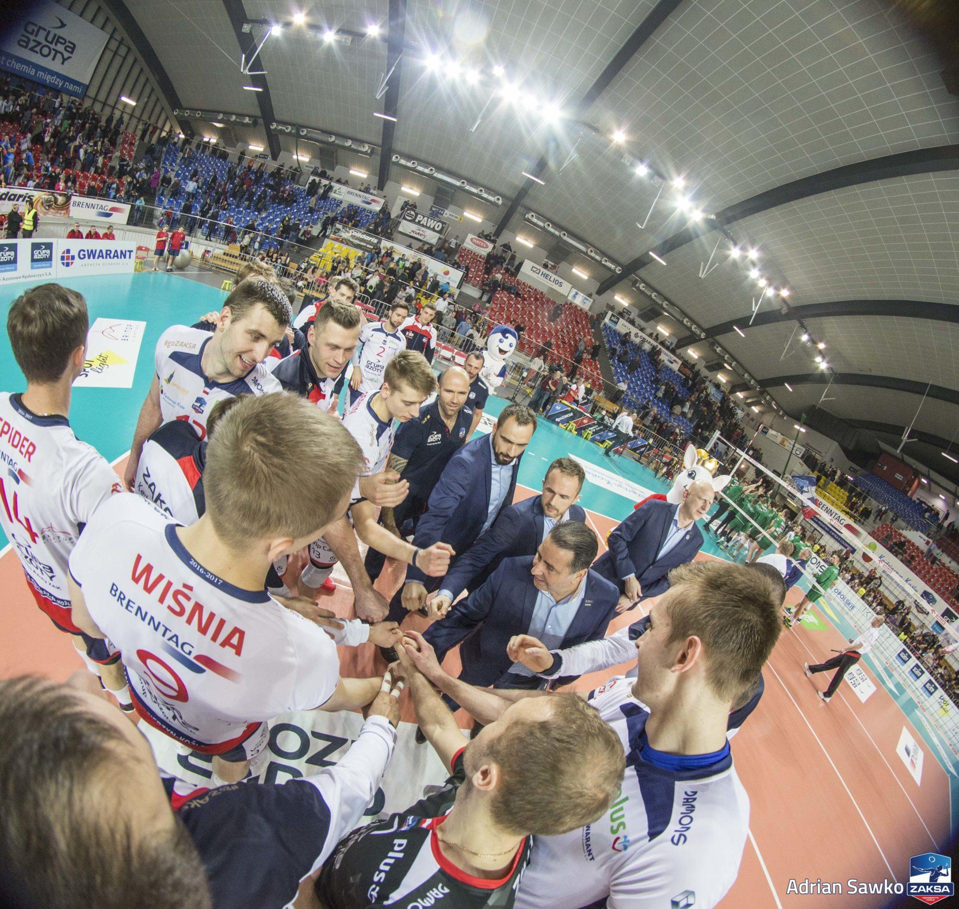 Dominik Witczak o meczu z AZS-em Częstochowa