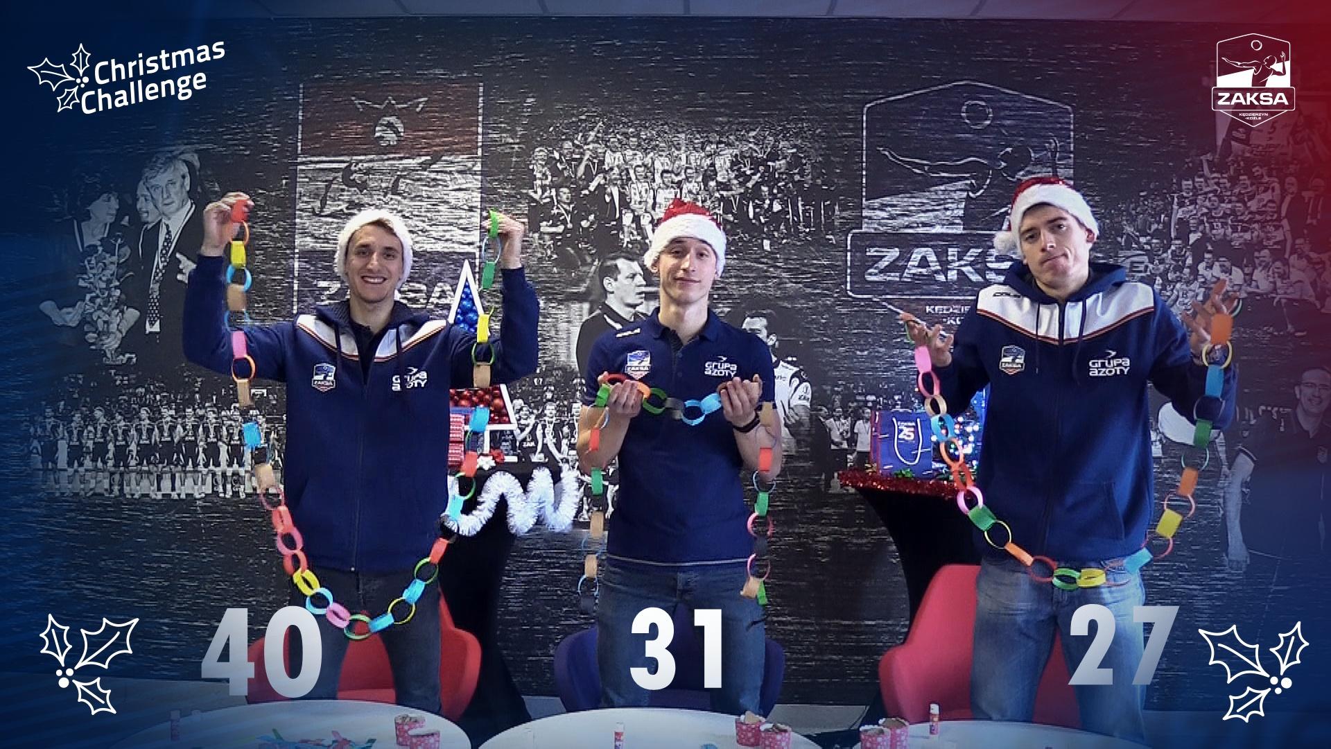 CHRISTMAS CHALLENGE: KORNEL BANACH VS MARCIN NOWAKOWSKI VS KAMIL SEMENIUK