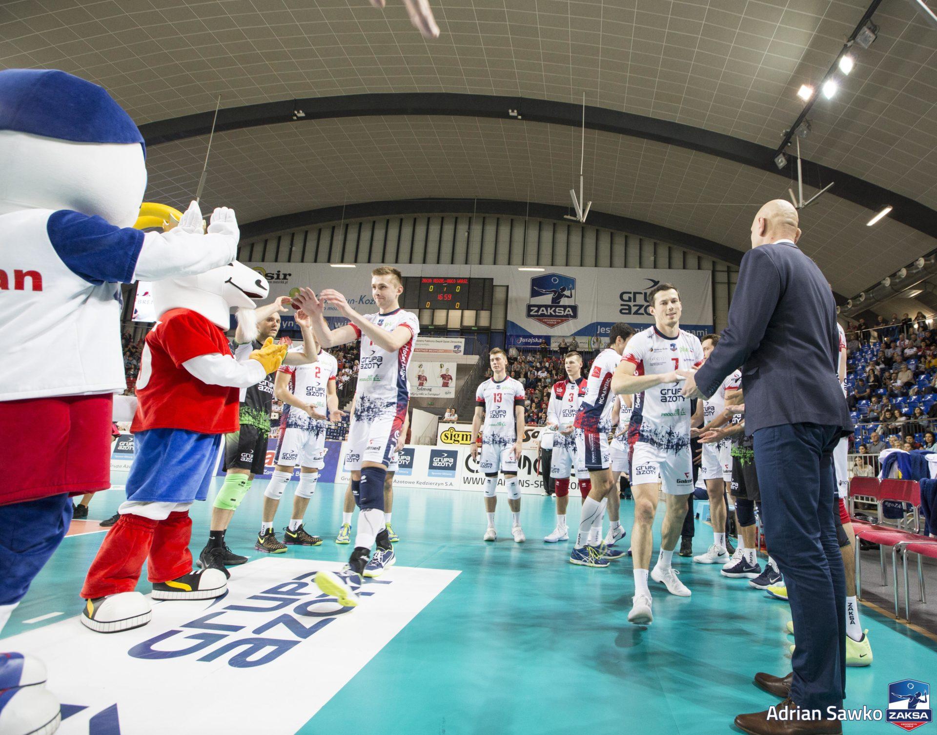 ZAKSA zagra z zamykającym ligową tabelę BBTS-em Bielsko-Biała