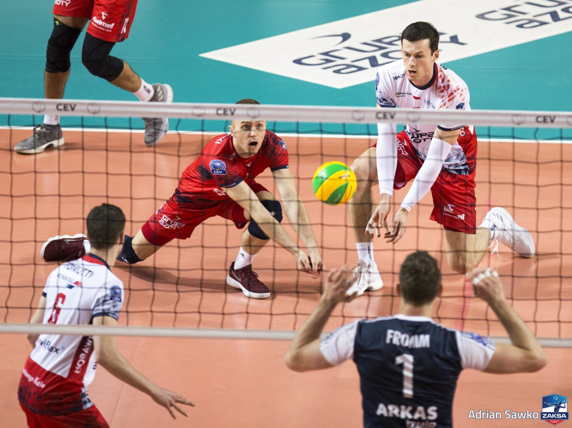 Paweł Zatorski: Czuć już tę fazę play-off Ligi Mistrzów