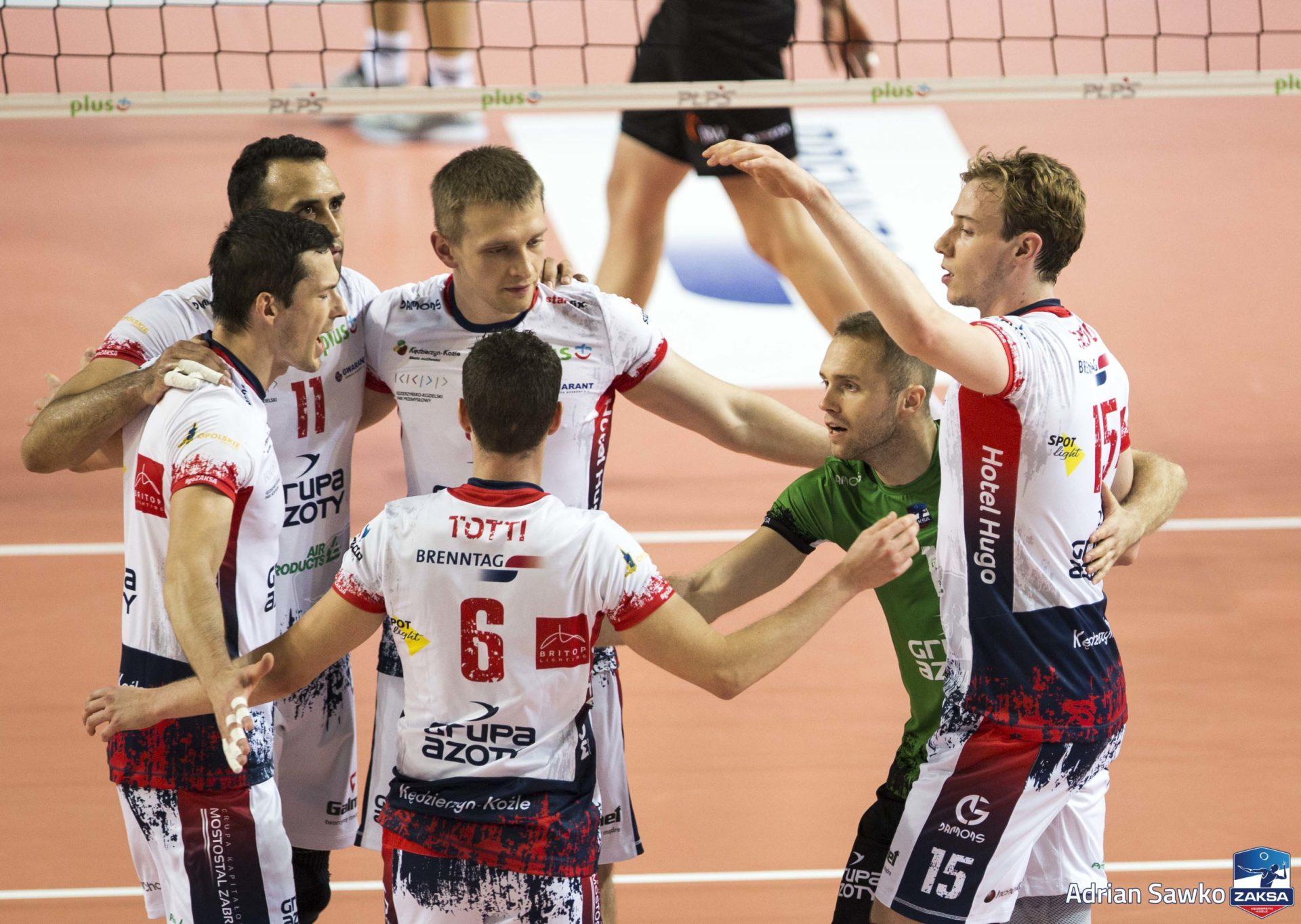 ZAKSA niepokonana, kolejne zwycięstwo mistrzów Polski