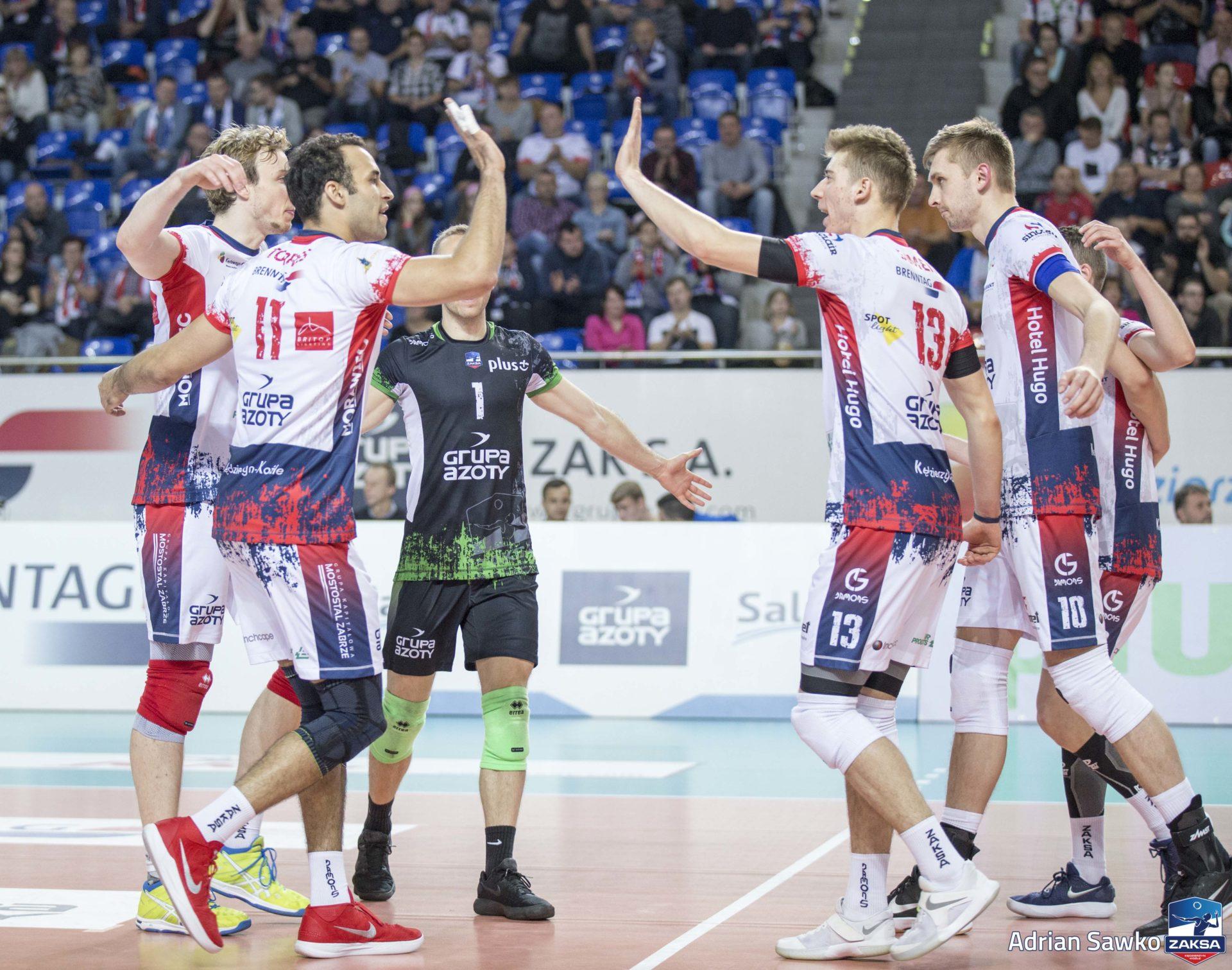 Po kolejne punkty mistrzowie Polski pojechali do Szczecina