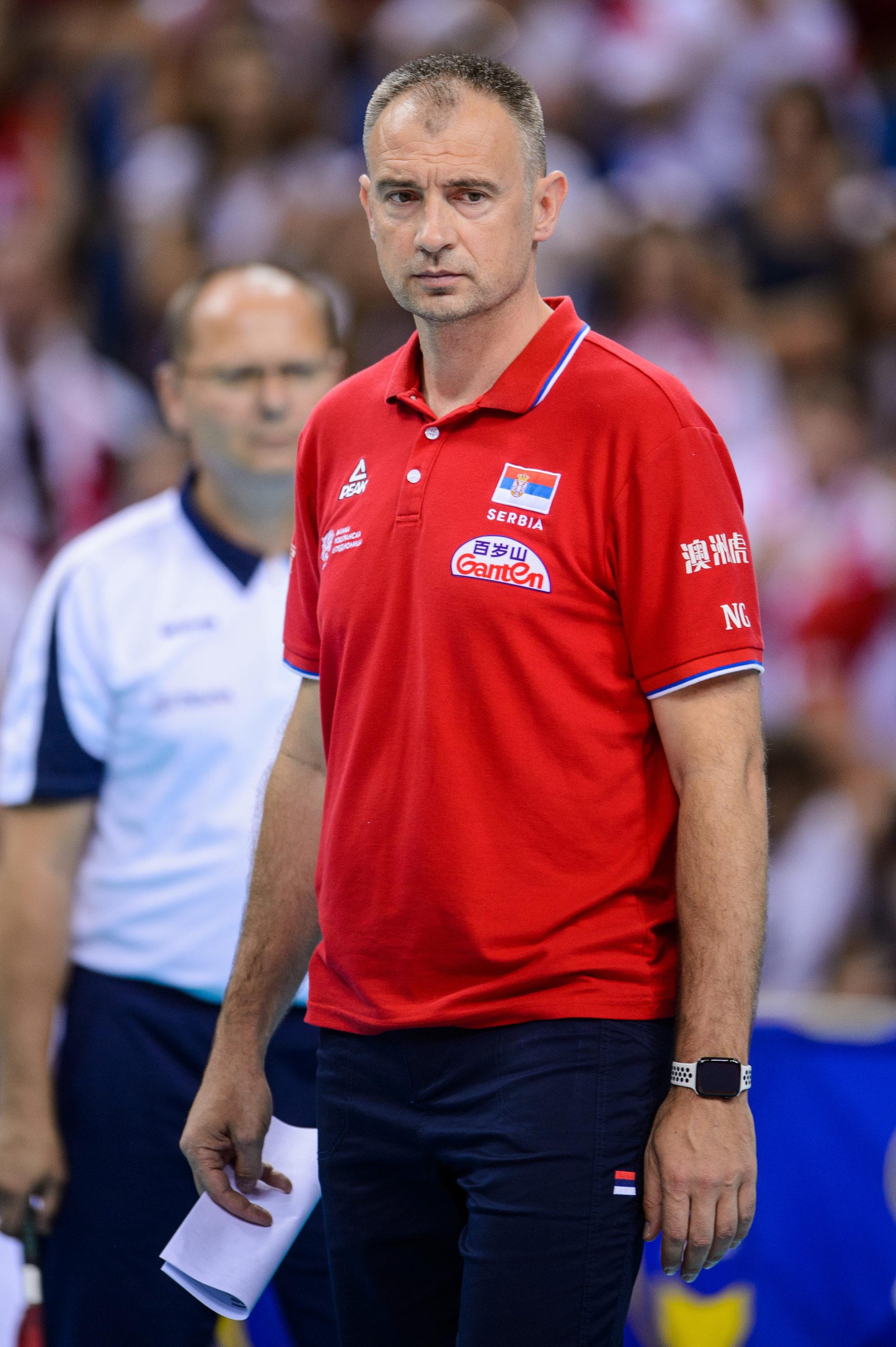 Nikola Grbić: Wynik nie jest teraz naszym priorytetem
