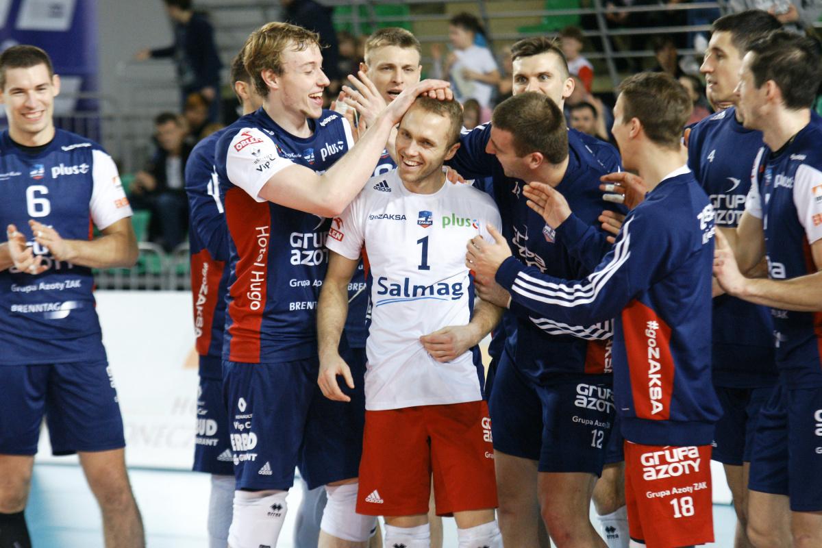 ZAKSA wygrywa w Bydgoszczy 3:0 !
