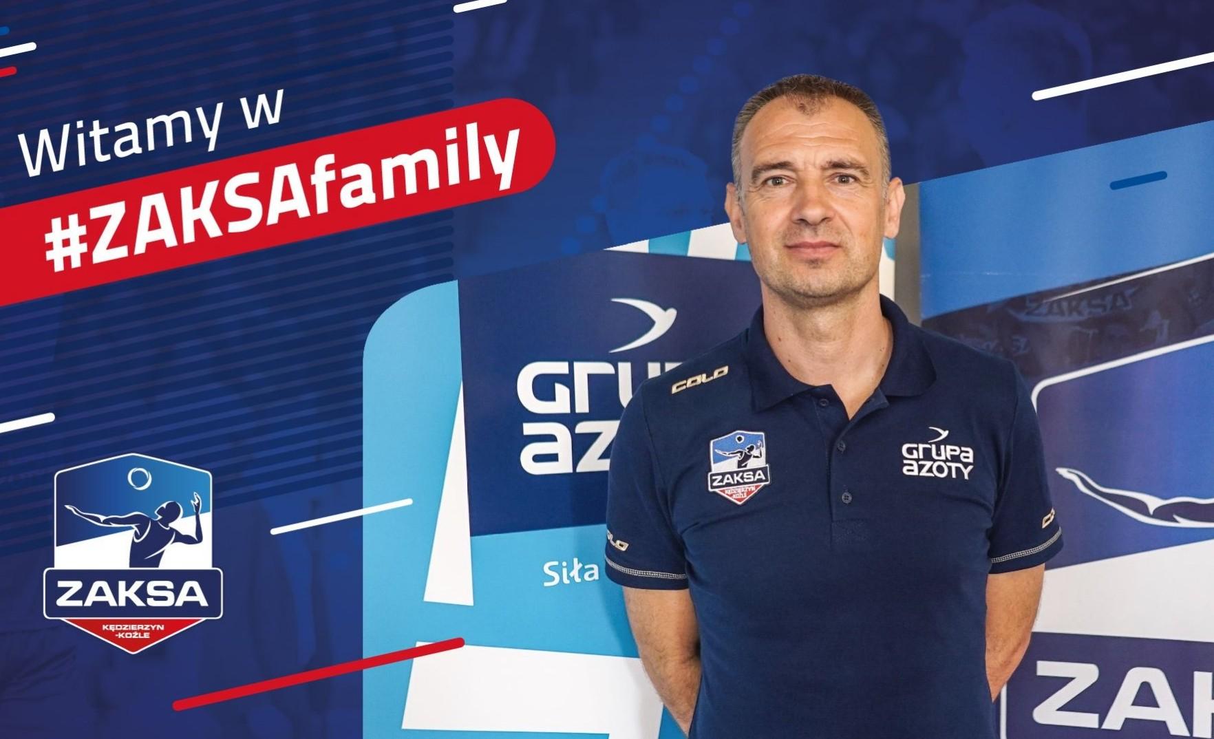 Nikola Grbić – pierwszy dzień w ZAKSIE