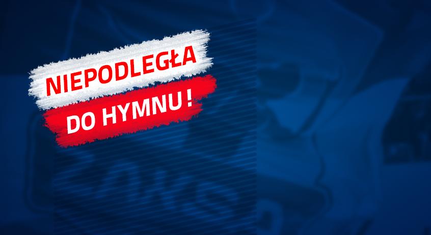 """Biało-czerwona kolejka ligowa z """"Niepodległa do hymnu"""""""