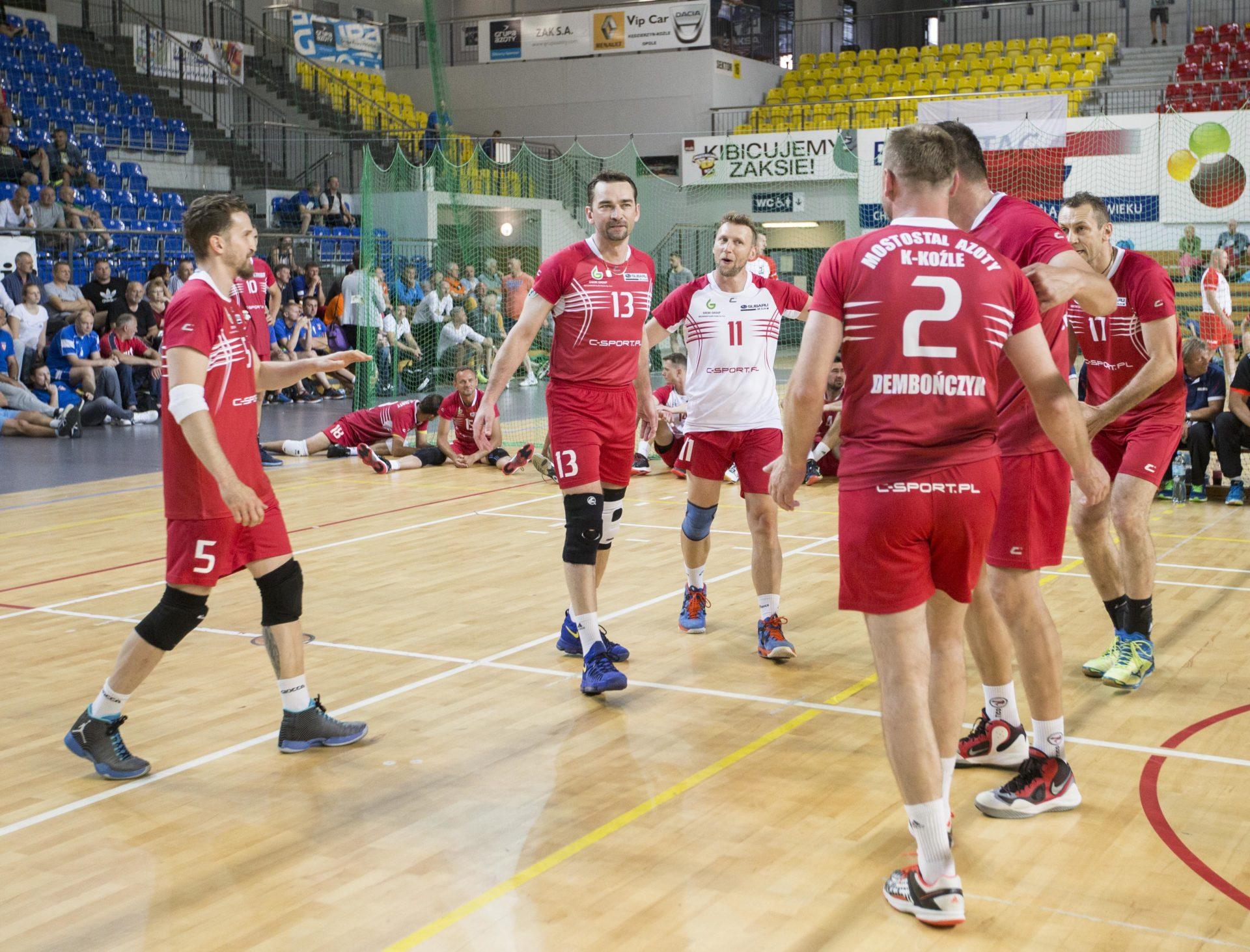 XXII Mistrzostwa Polski Old Boyów – srebrny Mostostal