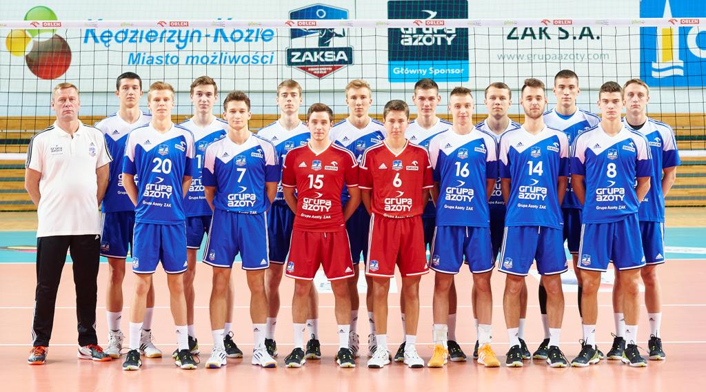 Młoda ZAKSA zakończyła sezon.