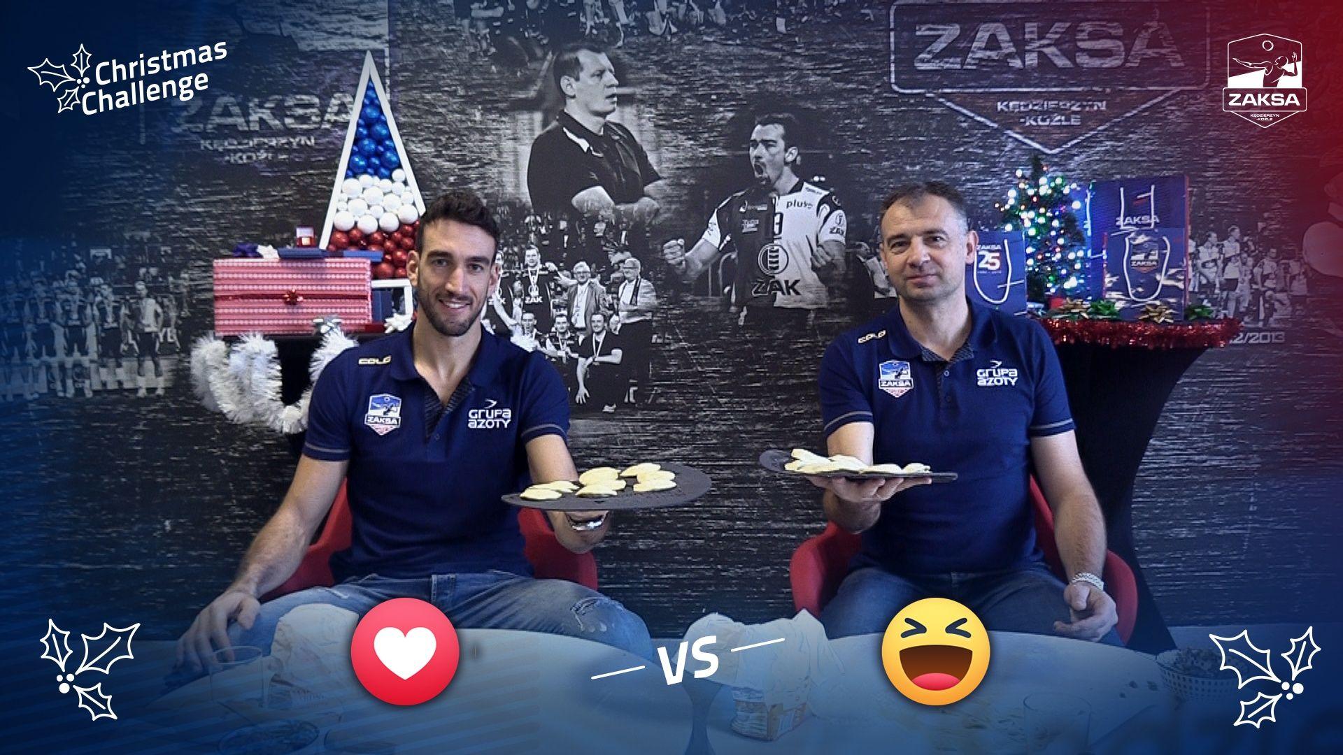 Christmas Challenge: Simone Parodi vs Nikola Grbić