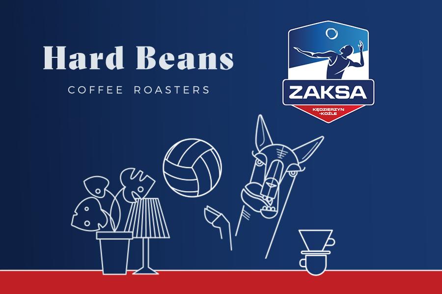 Granie i kibicowanie z mocą – HARD BEANS COFFEE ROASTERS partnerem ZAKSY