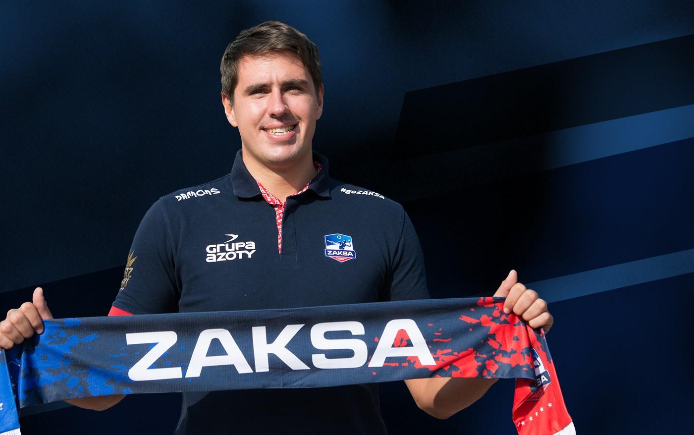 Tomasz Kalembka uzupełnia skład środkowych ZAKSY