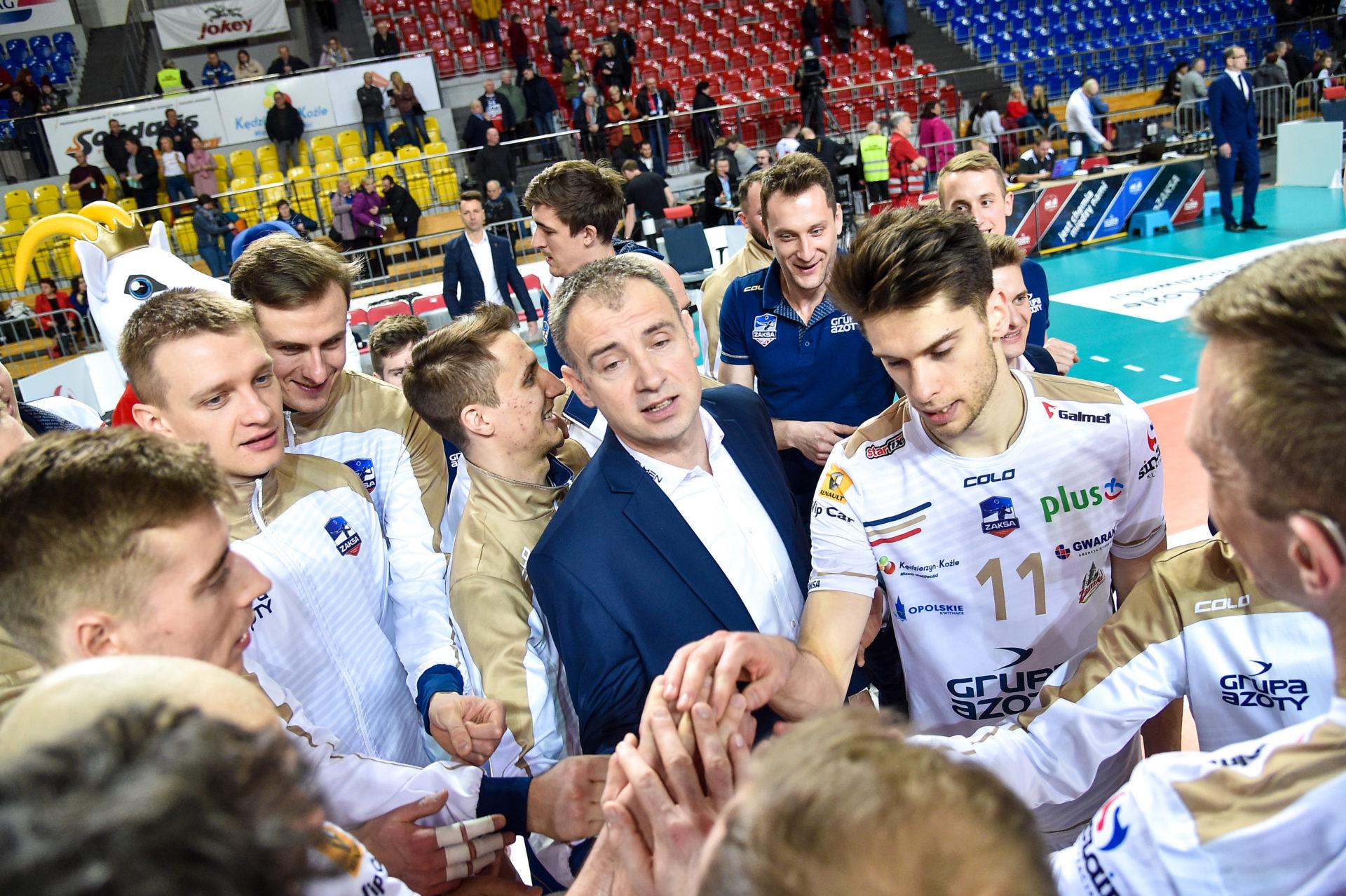 Grupa Azoty ZAKSA Kędzierzyn-Koźle vs BKS Visła Bydgoszcz – fotogaleria
