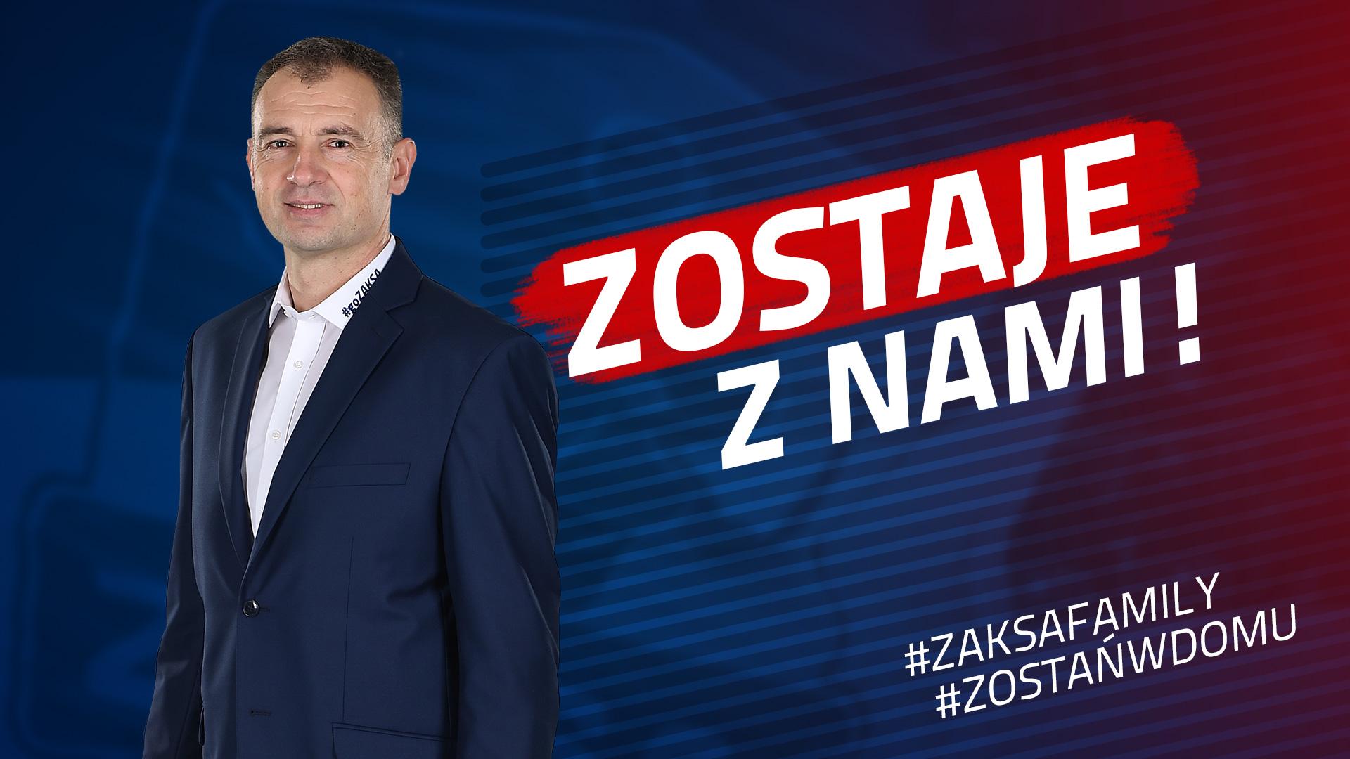 Nikola Grbić zostaje z ZAKSĄ!