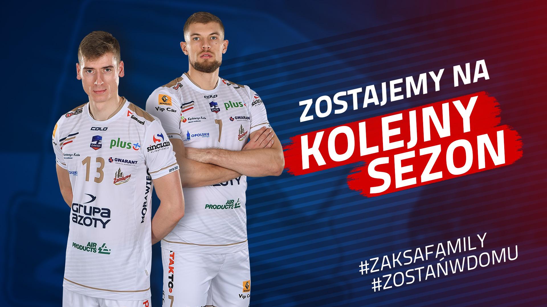 Kamil Semeniuk i Piotr Łukasik zostają w ZAKSIE!