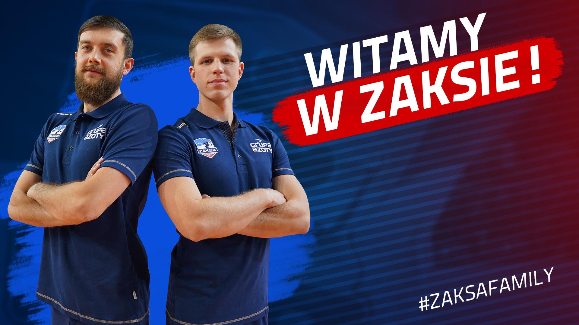 Mateusz Zawalski i Rafał Prokopczuk: ZAKSA daje możliwości