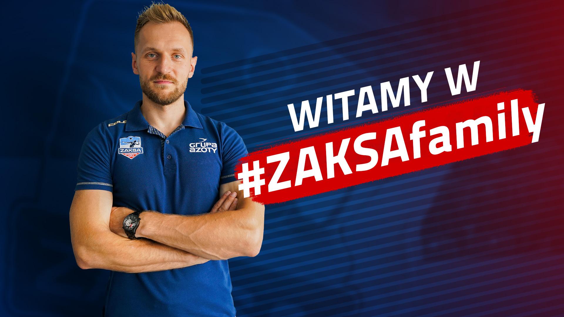 Adrian Staszewski nowym przyjmującym ZAKSY