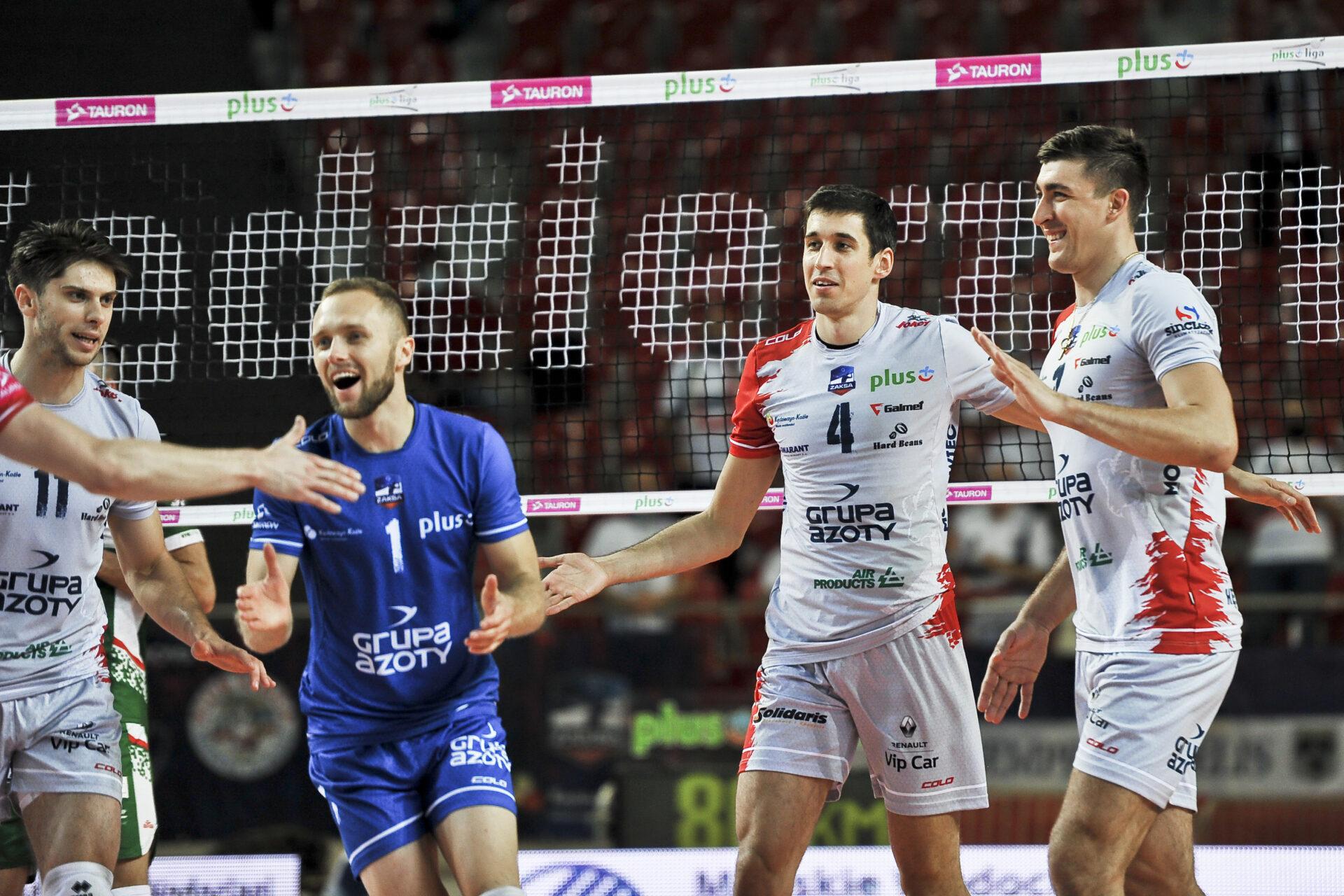 Seria podtrzymana, Grupa Azoty ZAKSA Kędzierzyn-Koźle z kolejną wygraną