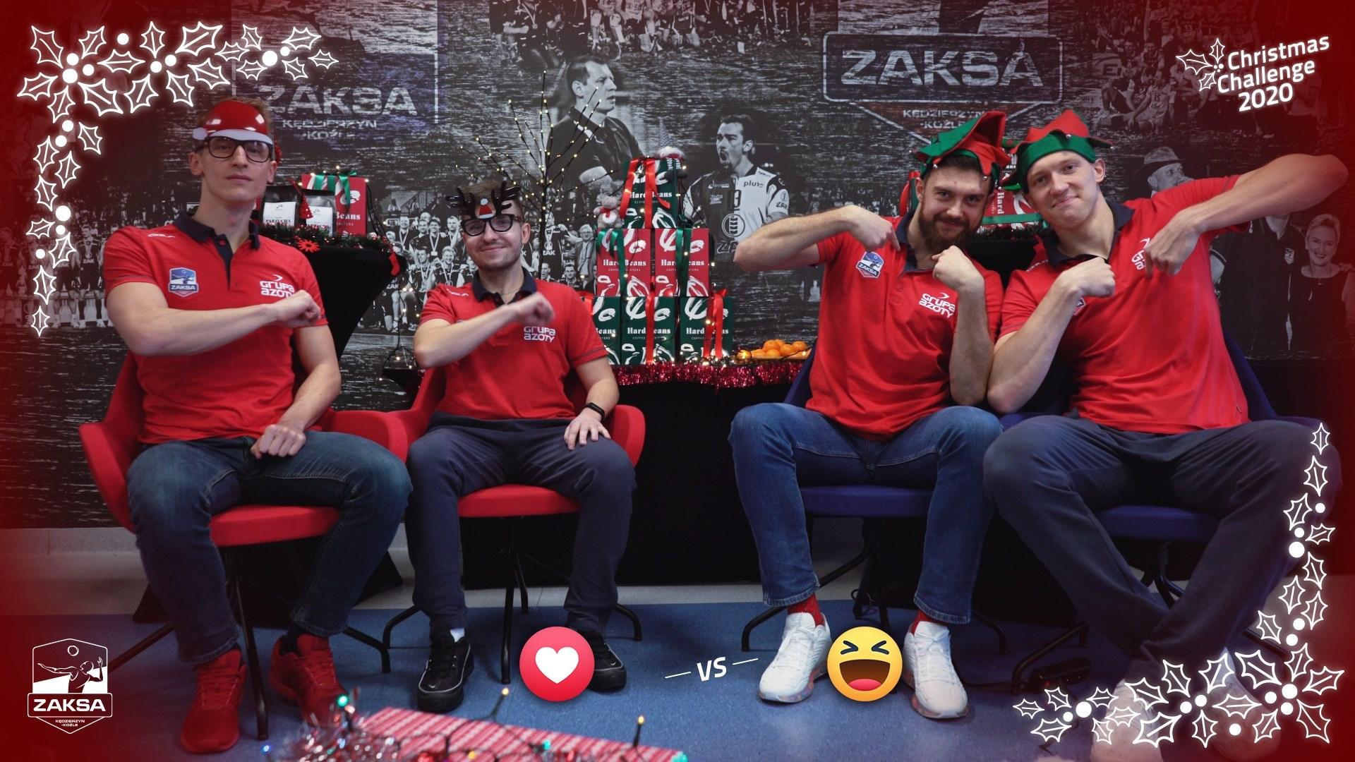Christmas Challenge 2020: Marcin i Paweł vs Mateusz i Bartek